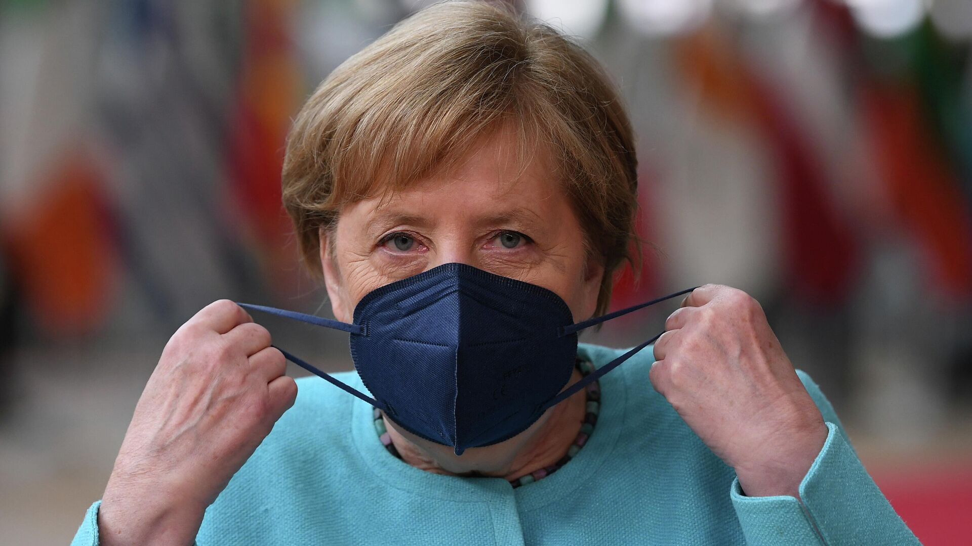 Bundeskanzlerin Angela Merkel - SNA, 1920, 05.07.2021