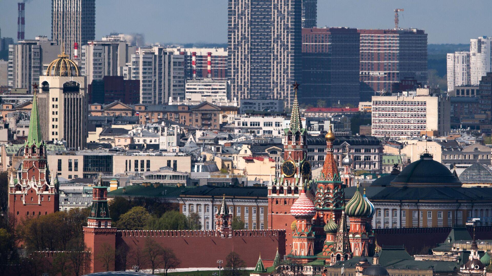 Aussicht auf den Moskauer Kreml - SNA, 1920, 02.07.2021