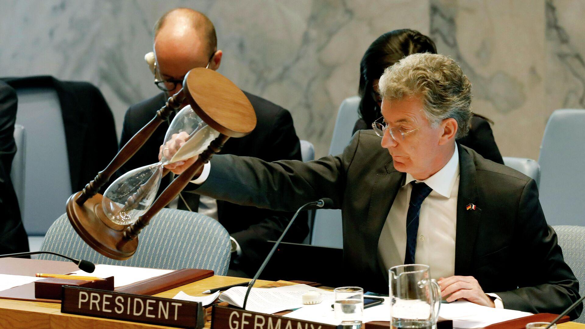 Deutscher UN-Botschafter und früherer Präsident des UN-Sicherheitsrates Christoph Heusgen (Archivbild) - SNA, 1920, 01.07.2021