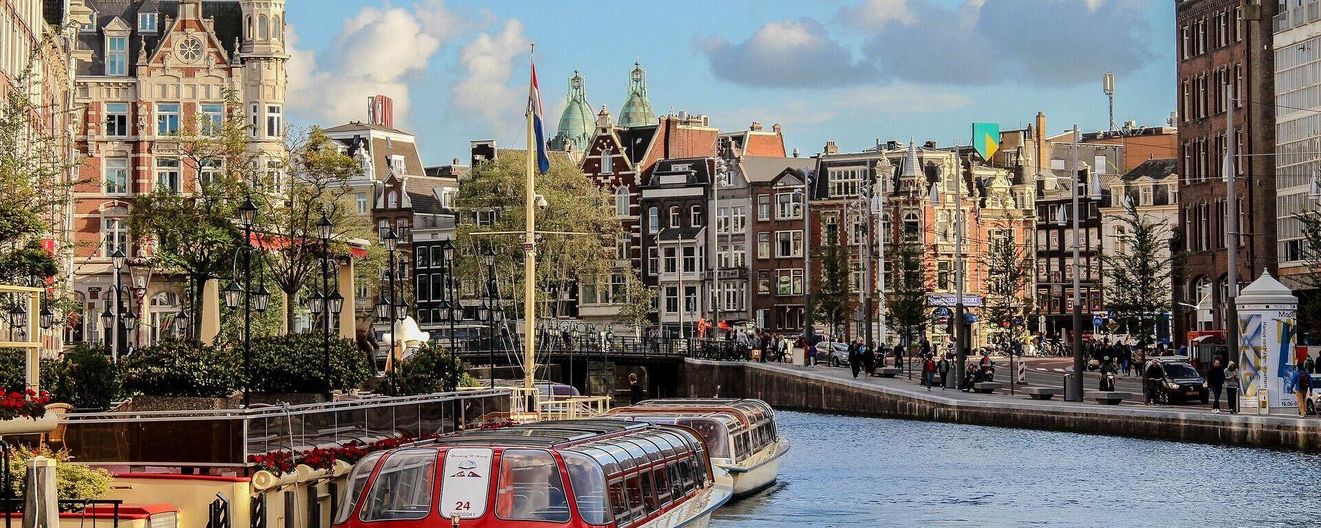 Blick auf Amsterdam (Symbolbild) - SNA, 1920, 01.07.2021