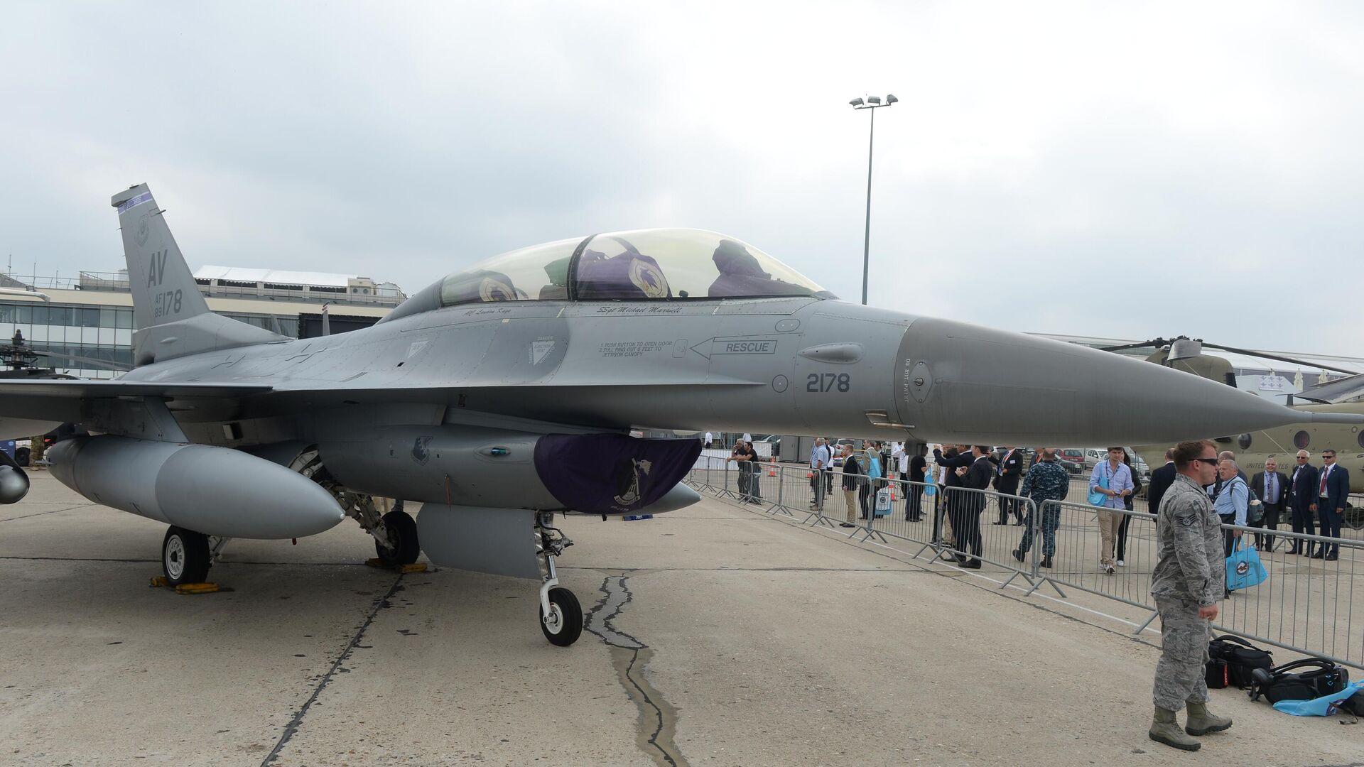 Kampfjet des Typs F-16 (Archiv) - SNA, 1920, 01.07.2021