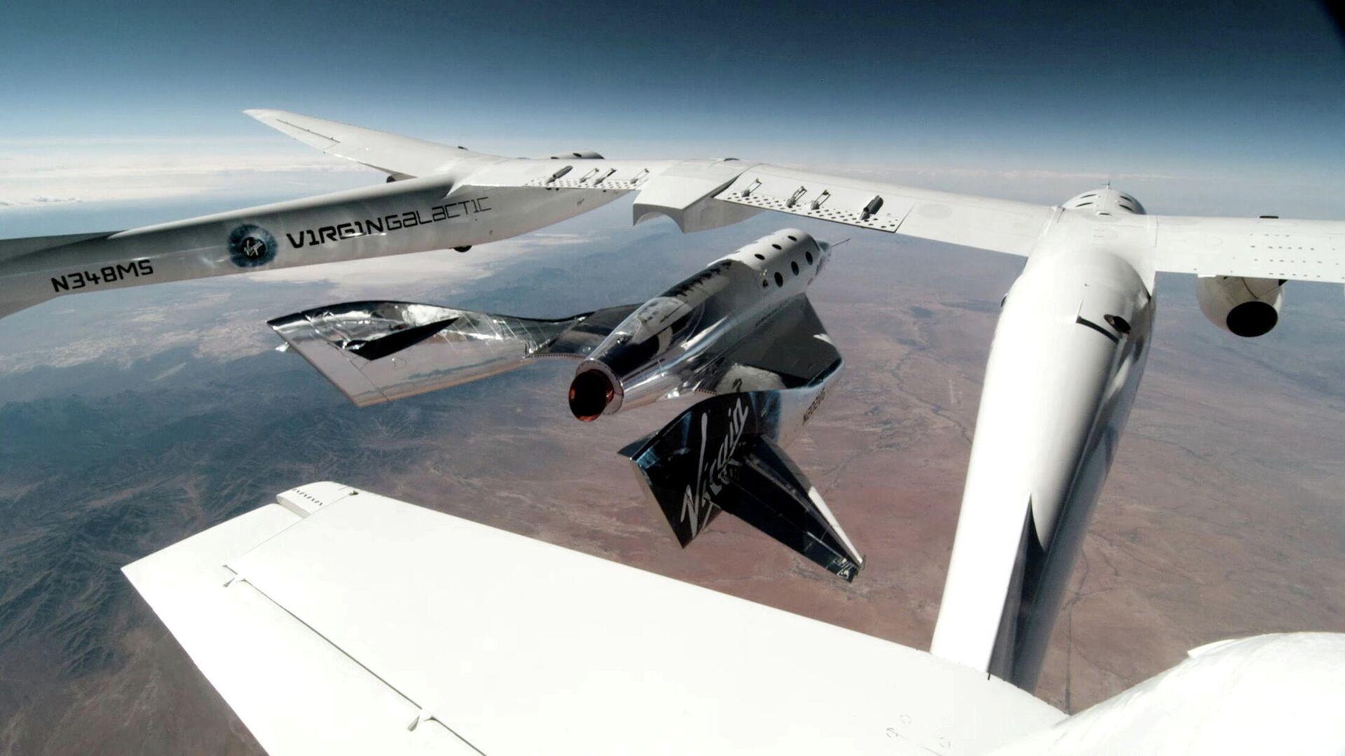 "Raumflugzeug ""VSS Unity (Archivbild) - SNA, 1920, 02.07.2021"