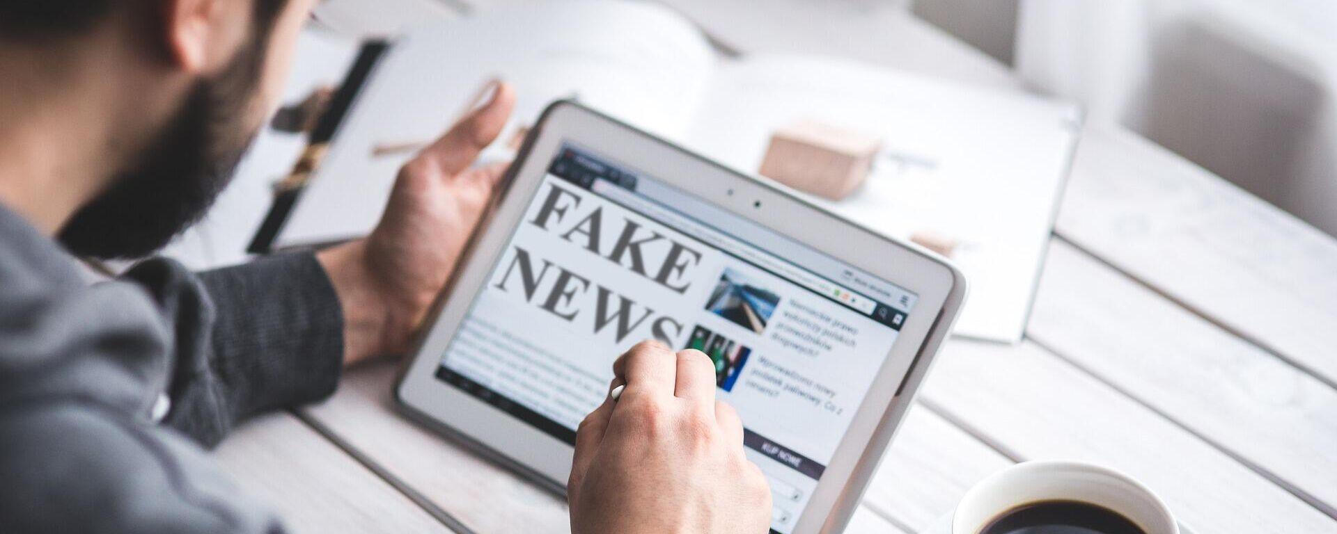 Fake News (Symbolbild) - SNA, 1920, 02.07.2021