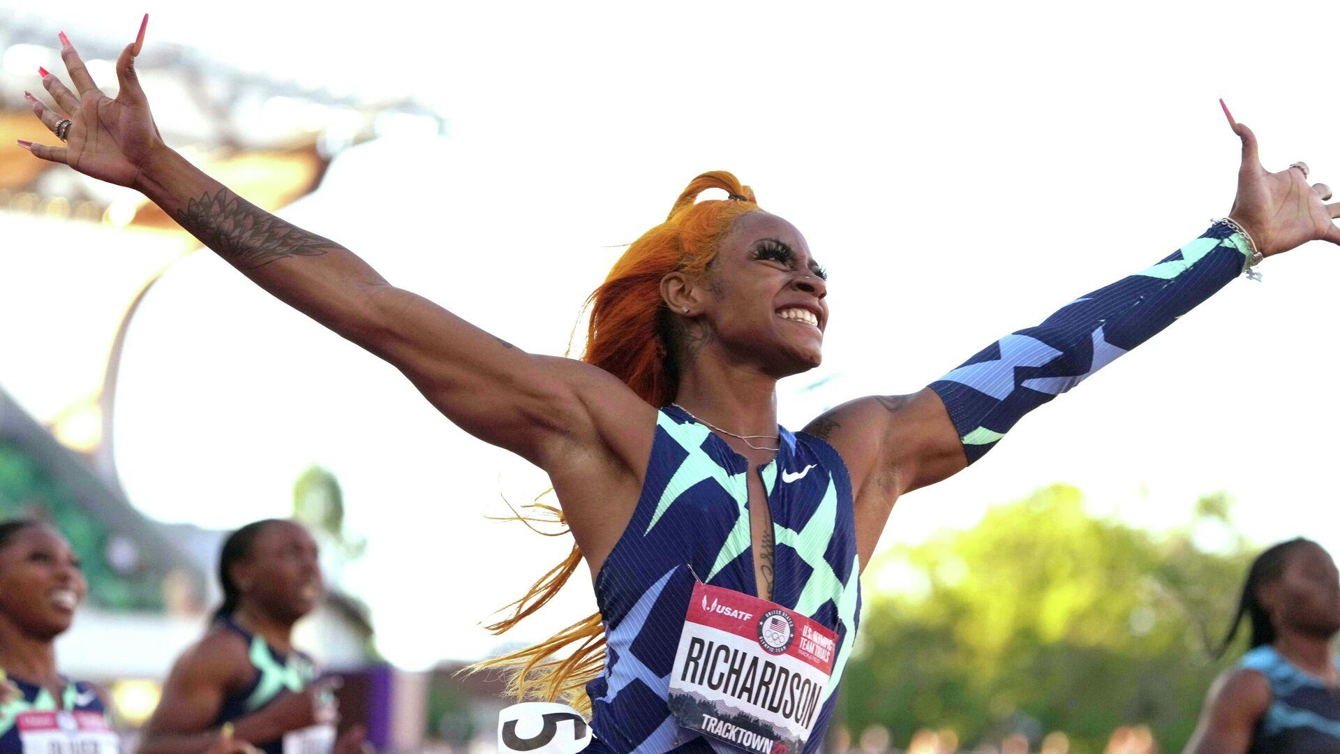 Sportlerin Sha'Carri Richardson - SNA, 1920, 02.07.2021
