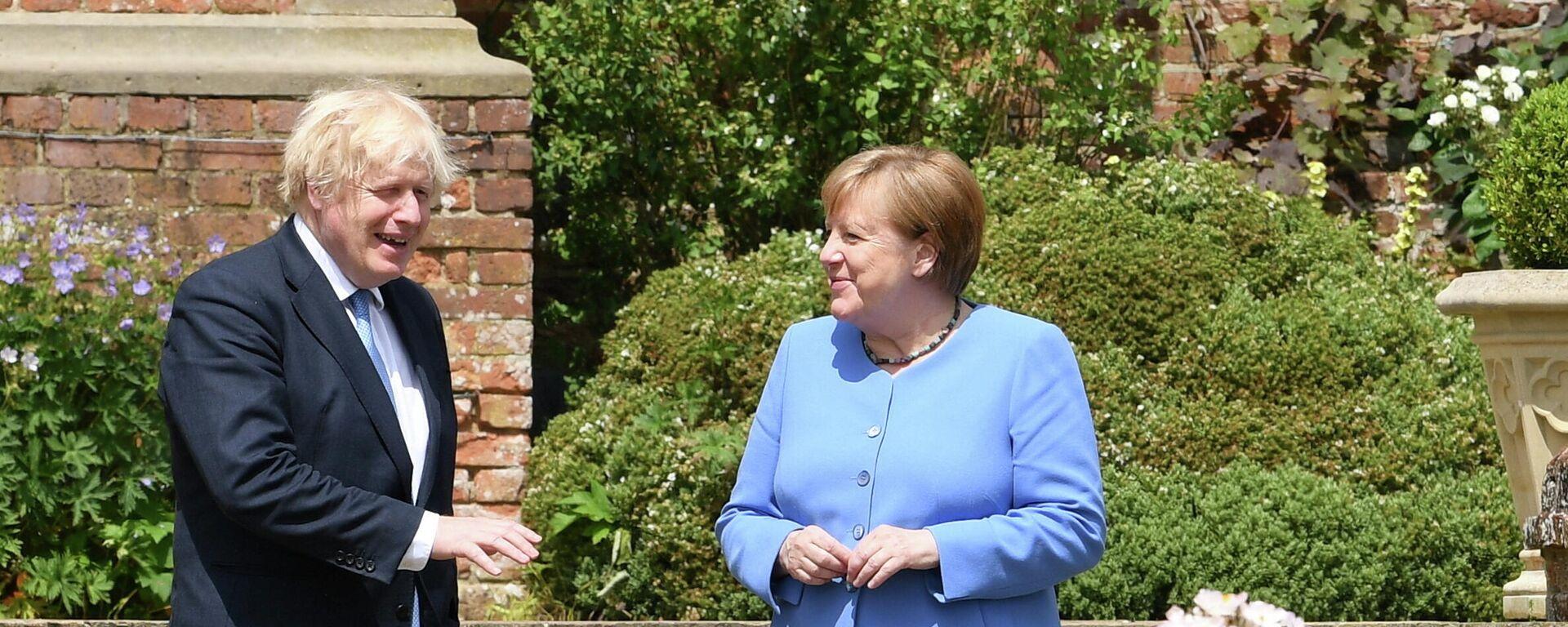 Treffen von Johnson und Merkel - SNA, 1920, 02.07.2021