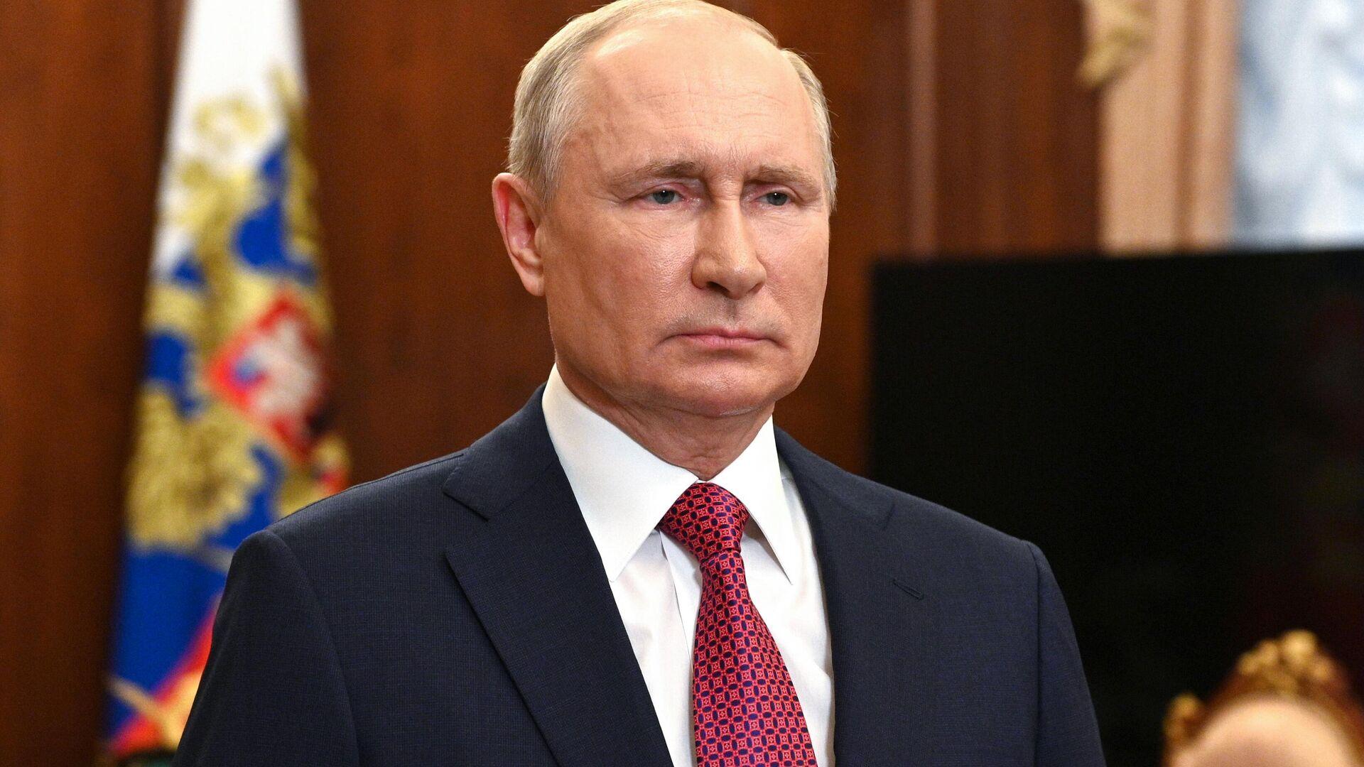 Russlands Präsident Wladimir Putin  - SNA, 1920, 12.07.2021