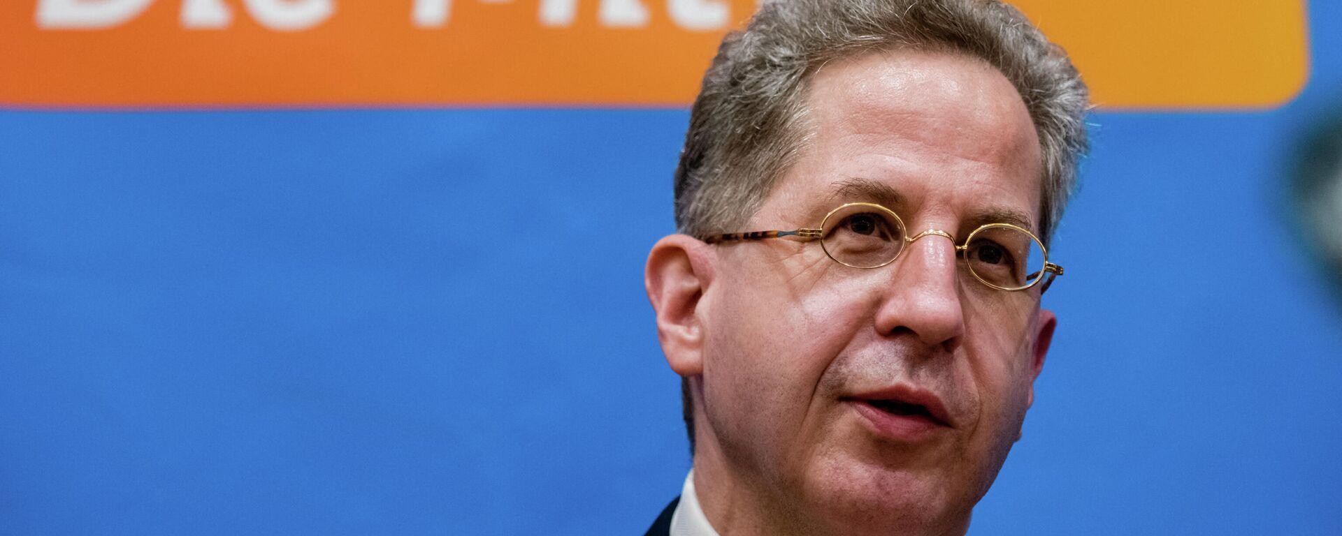 Hans-Georg Maassen, ehemaliger Chef des Bundesverfassungsschutzes, nimmt am 30. April 2021 an einer Wahlkreissitzung der CDU-Kreisverbände im ostdeutschen Suhl teil. - SNA, 1920, 05.07.2021