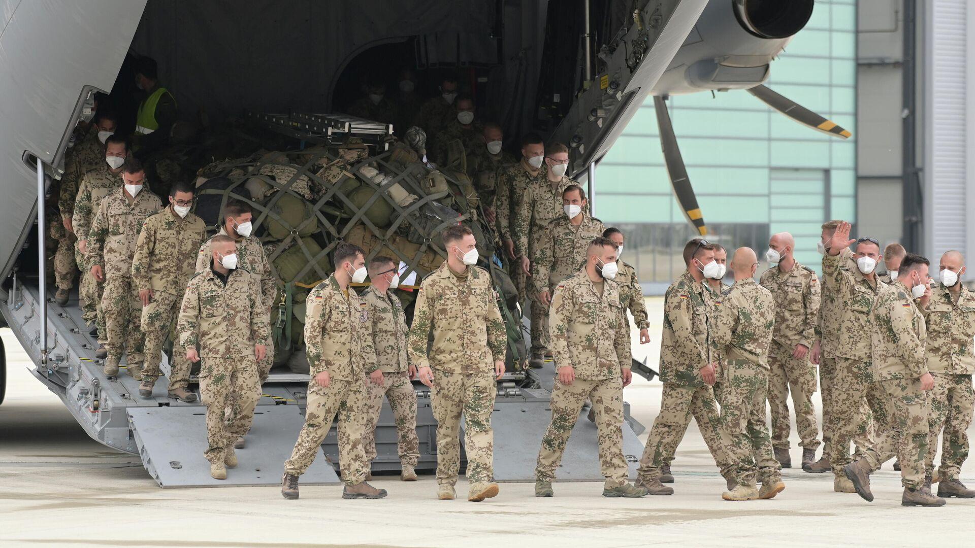 Bundeswehrsoldaten kehren aus Afghanistan zurück - SNA, 1920, 05.07.2021