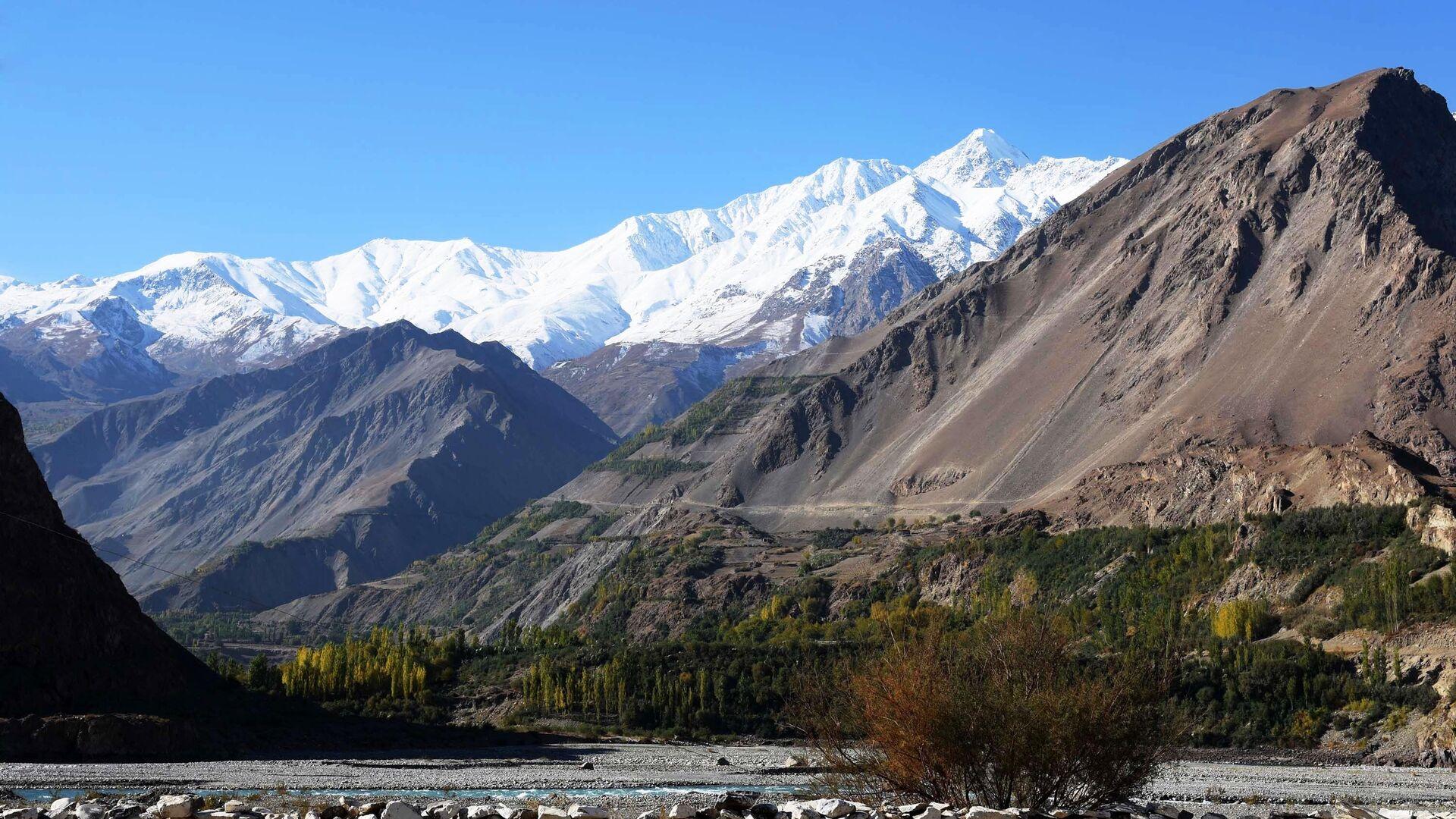 Tadschikisch-afghanische Grenze entlang des Flusses Pamir (Archiv) - SNA, 1920, 05.07.2021