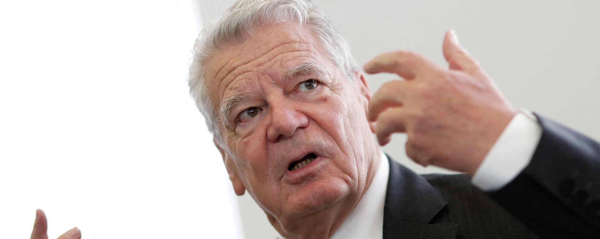 Deutschlands ehemaliger Präsident Joachim Gauck - SNA, 1920, 05.07.2021