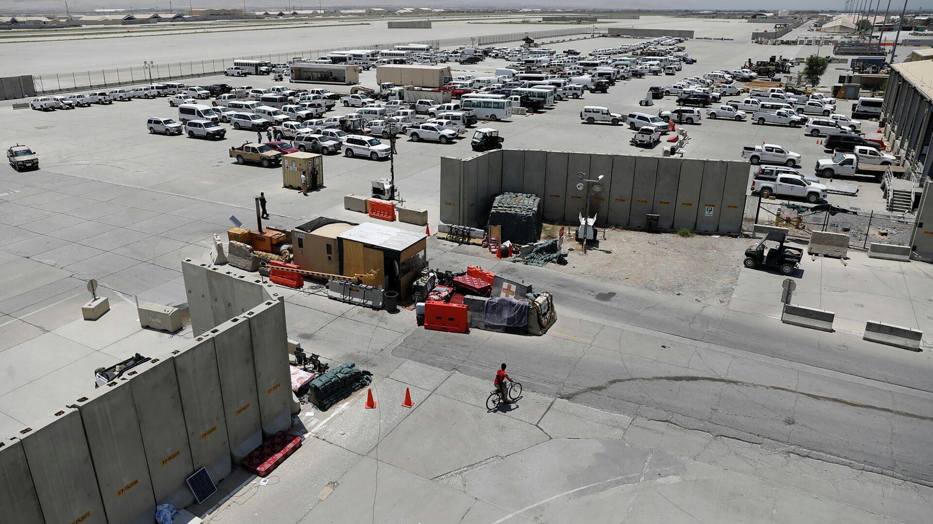 Der afghanische Luftstützpunkt Bagram nach Abzug der US-Truppen, 5. Juli 2021 - SNA, 1920, 05.07.2021