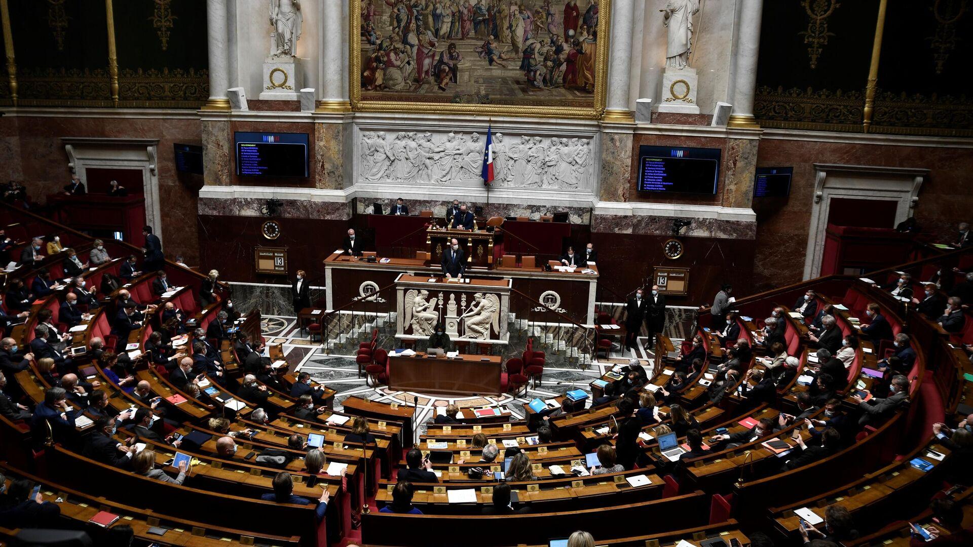 Nationalversammlung in Frankreich - SNA, 1920, 06.07.2021
