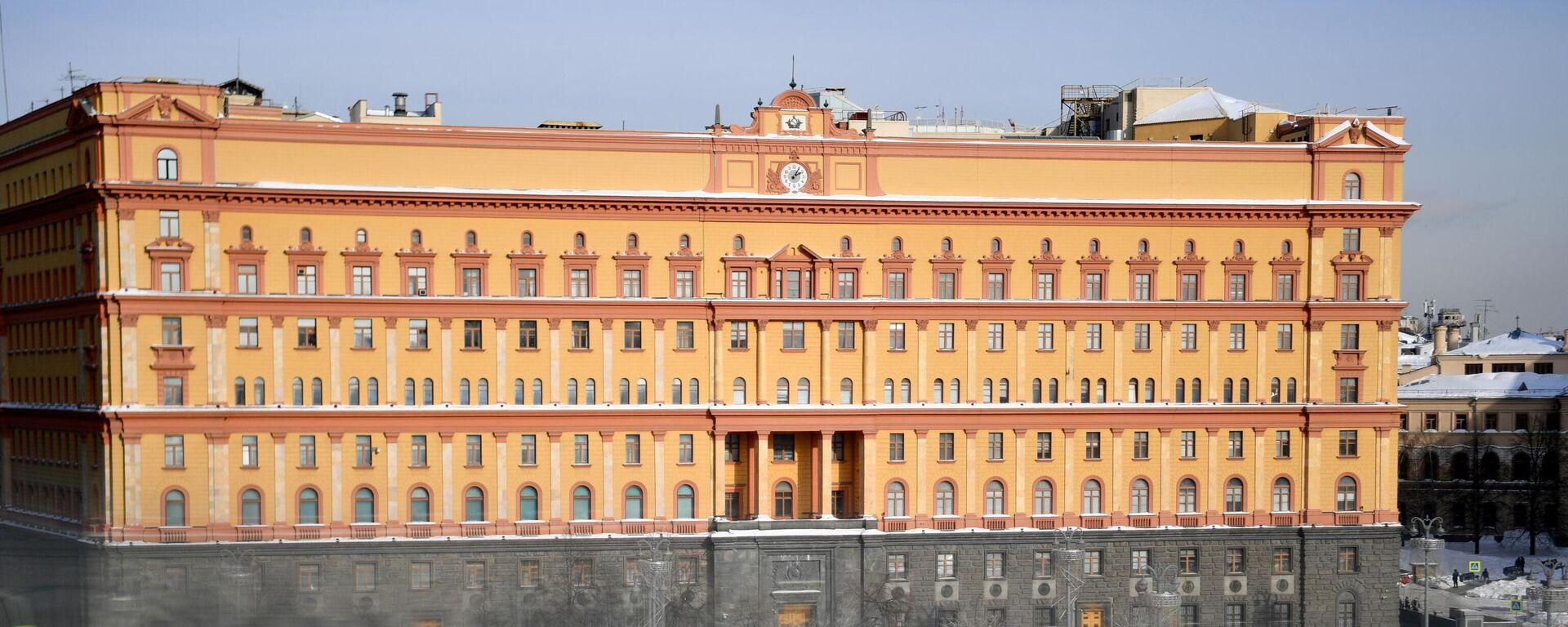 Gebäude des FSB in Moskau - SNA, 1920, 06.07.2021