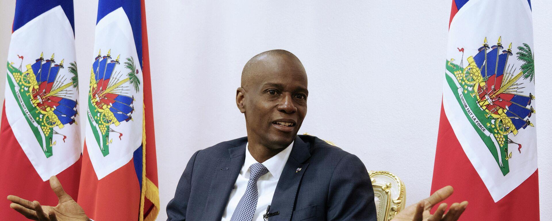 Der Präsident von Haiti Jovenel Moïse (Archivbild) - SNA, 1920, 16.07.2021