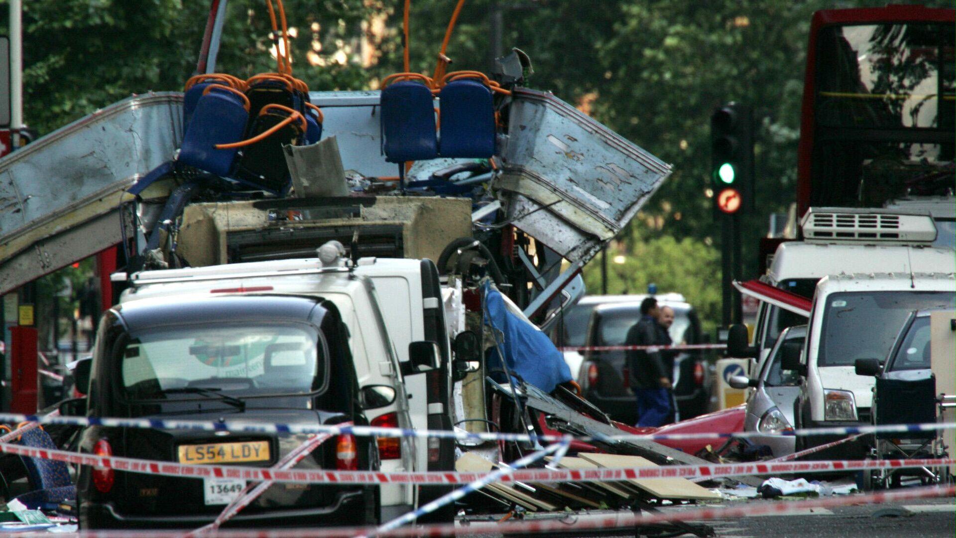 Terrorattacke eines Islamisten in London, 2005 - SNA, 1920, 07.07.2021