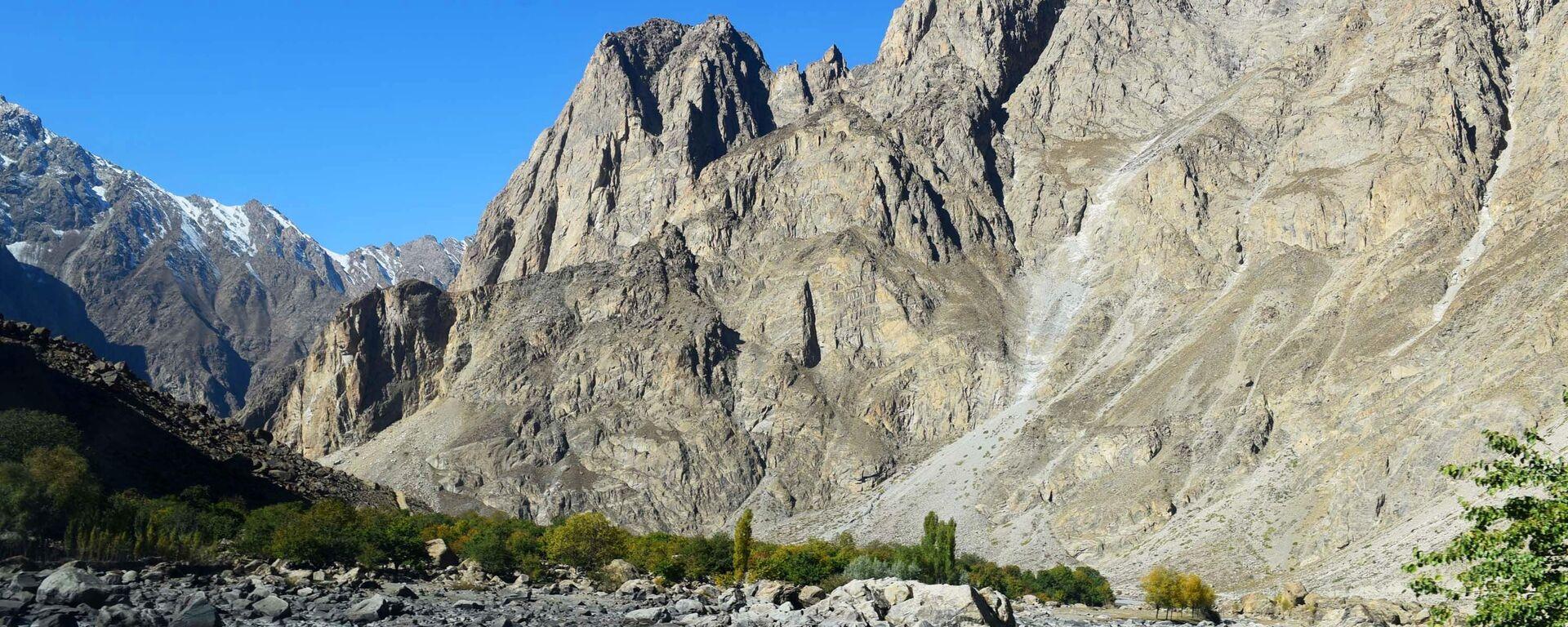 An der tadschikisch-afghanischen Grenze (Archiv) - SNA, 1920, 07.07.2021