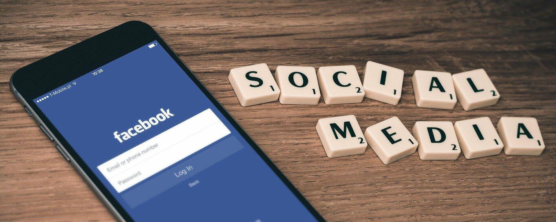 Facebook (Symbolbild) - SNA, 1920, 05.10.2021