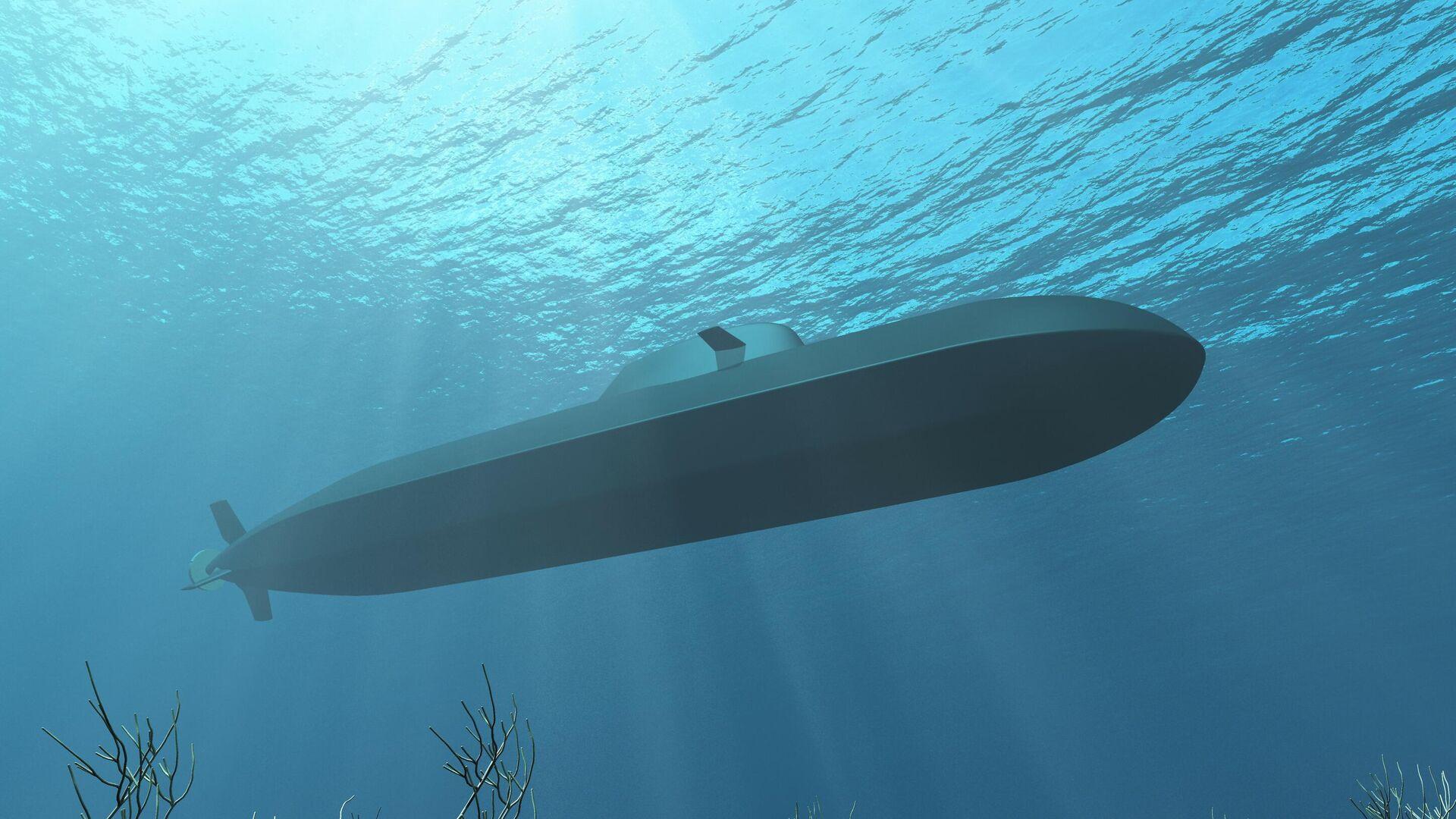 Designskizze des neuen U-Boots U212CD - SNA, 1920, 09.07.2021