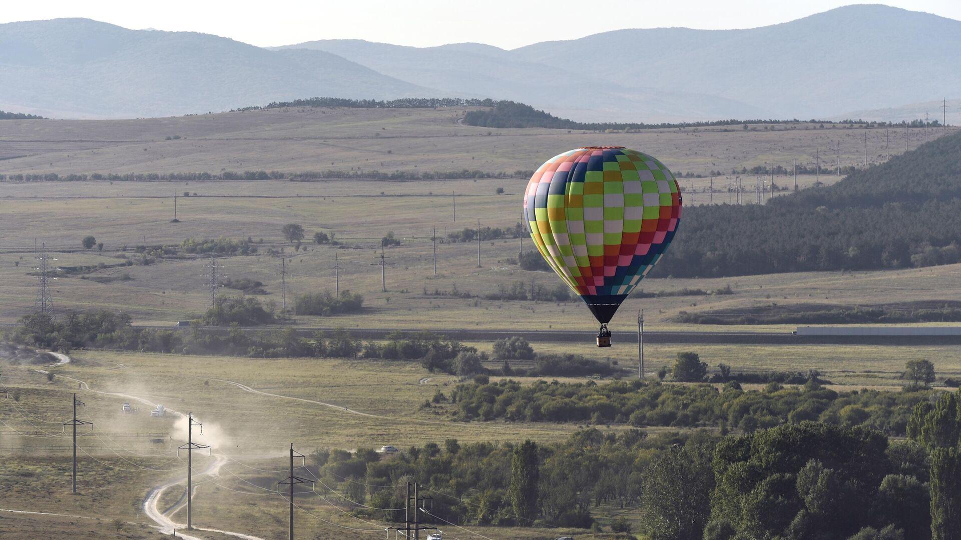 Heißluftballon (Symbolbild) - SNA, 1920, 09.07.2021