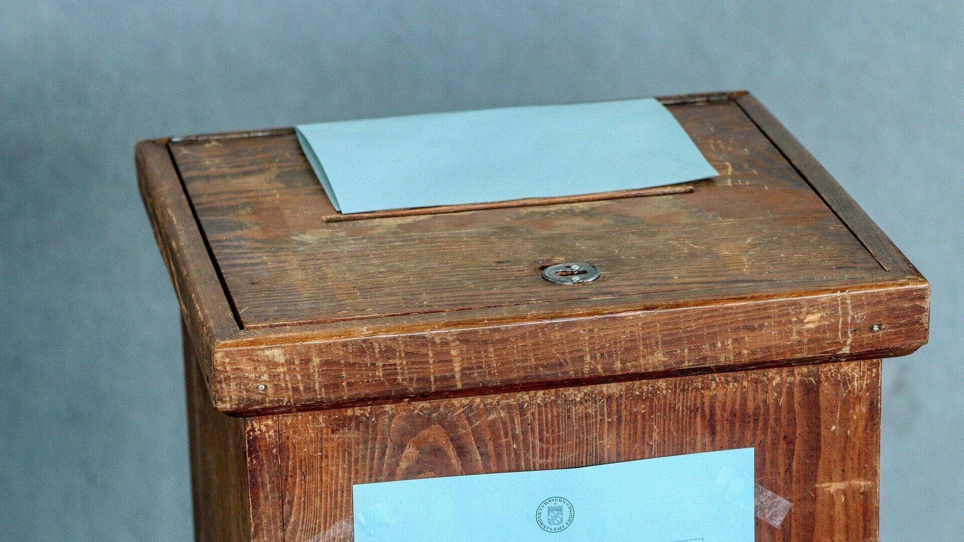 Wahlurne (Symbolbild) - SNA, 1920, 15.07.2021