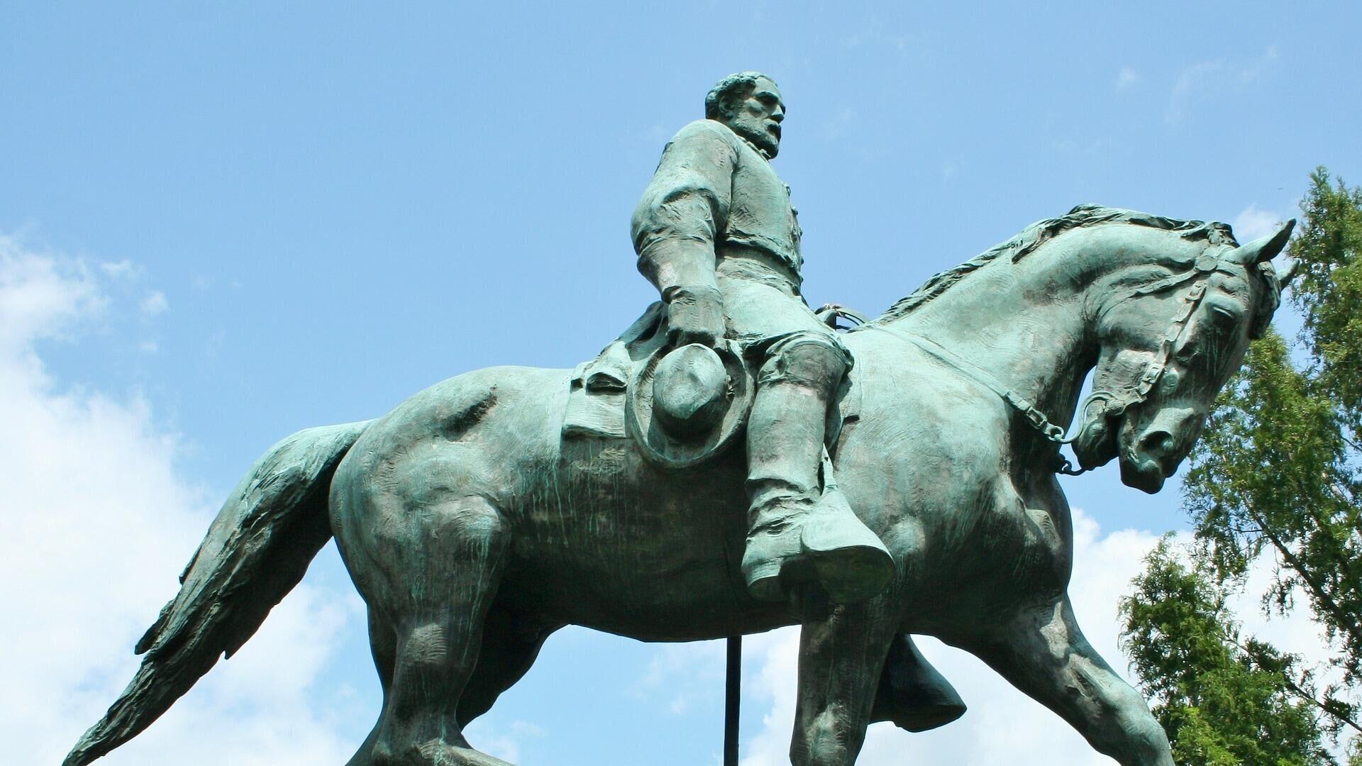 Robert-Lee-Statue (Archiv) - SNA, 1920, 11.07.2021