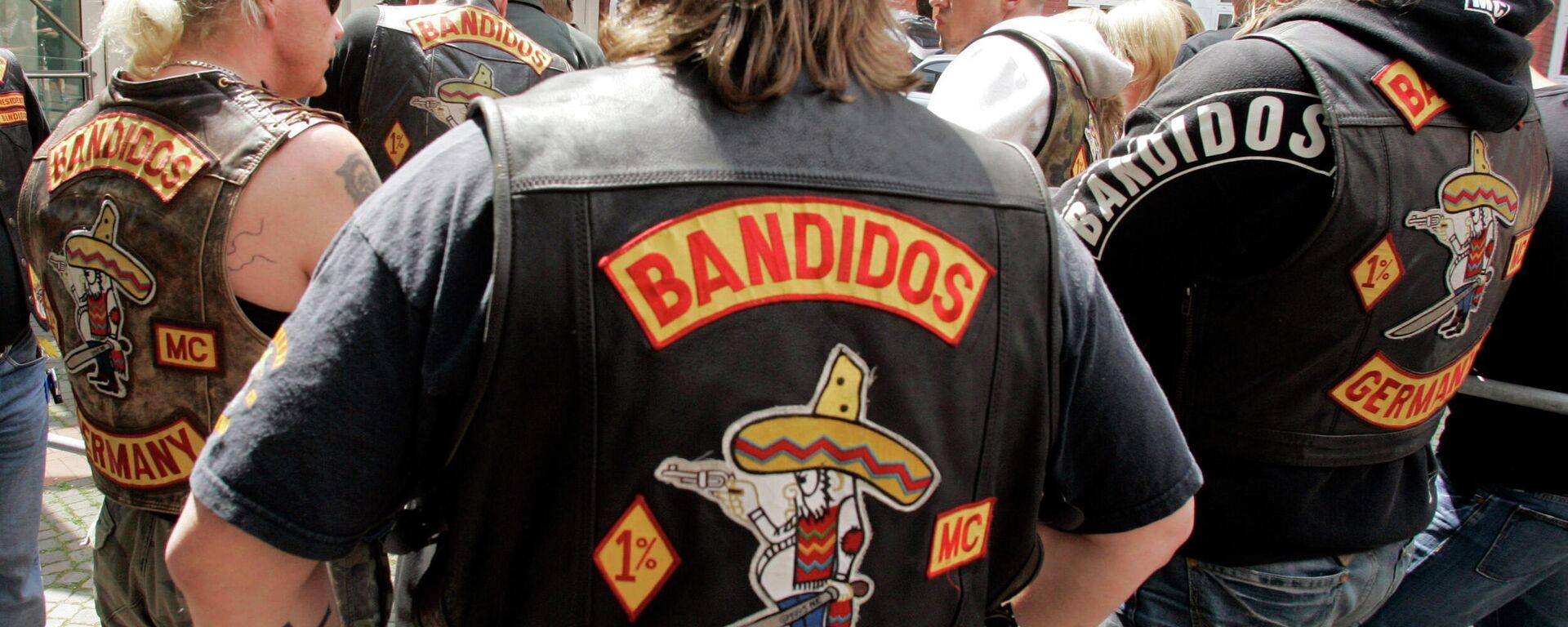Mitglieder der Rockergruppe Bandidos (Archivfoto) - SNA, 1920, 12.07.2021