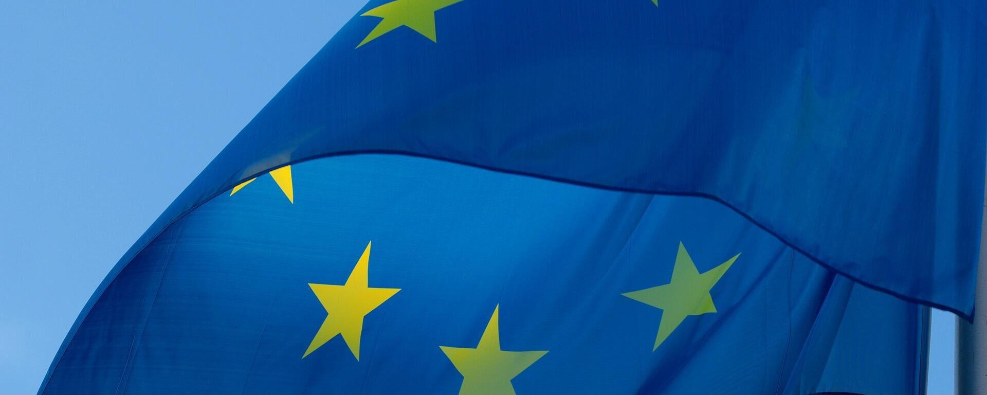 Flagge der Europäischen Union - SNA, 1920, 22.08.2021