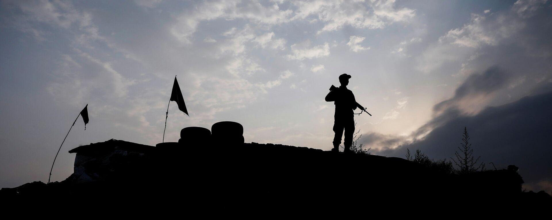 Soldat der afghanischen Nationalarmee in Kabul - SNA, 1920, 13.07.2021