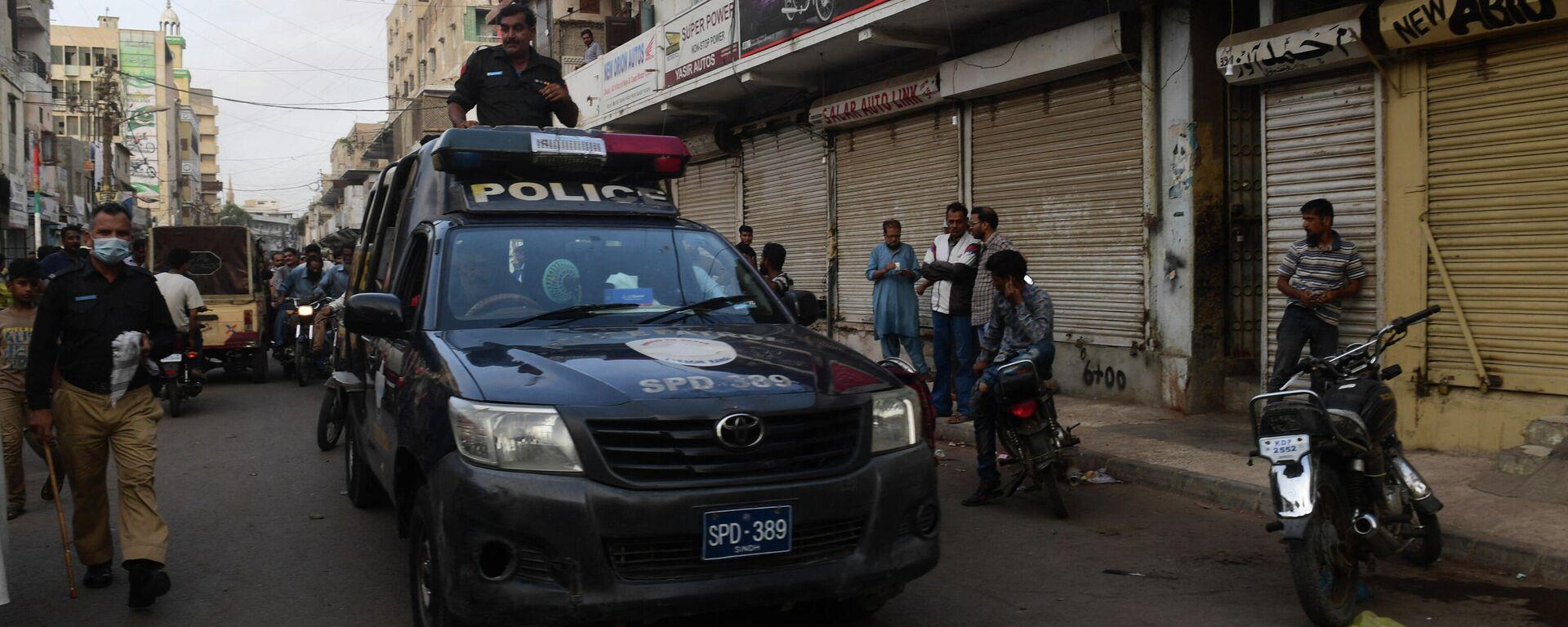 Pakistanische Polizei - SNA, 1920, 14.07.2021