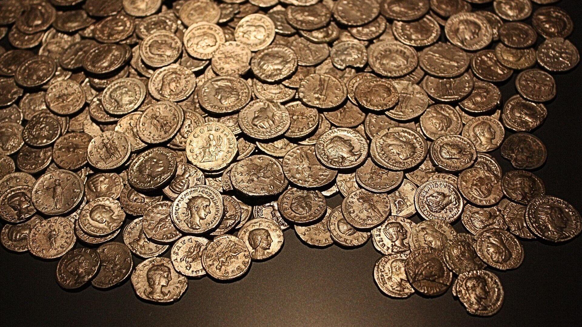 Goldmünzen (Symbolbild) - SNA, 1920, 21.09.2021