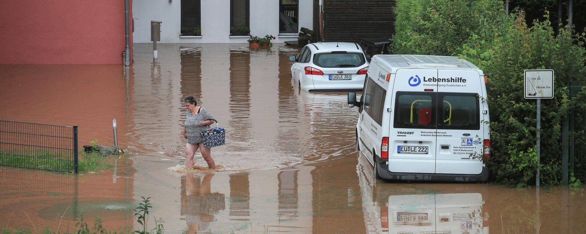 Hochwasser im Westen Deutschlands - SNA, 1920, 15.07.2021