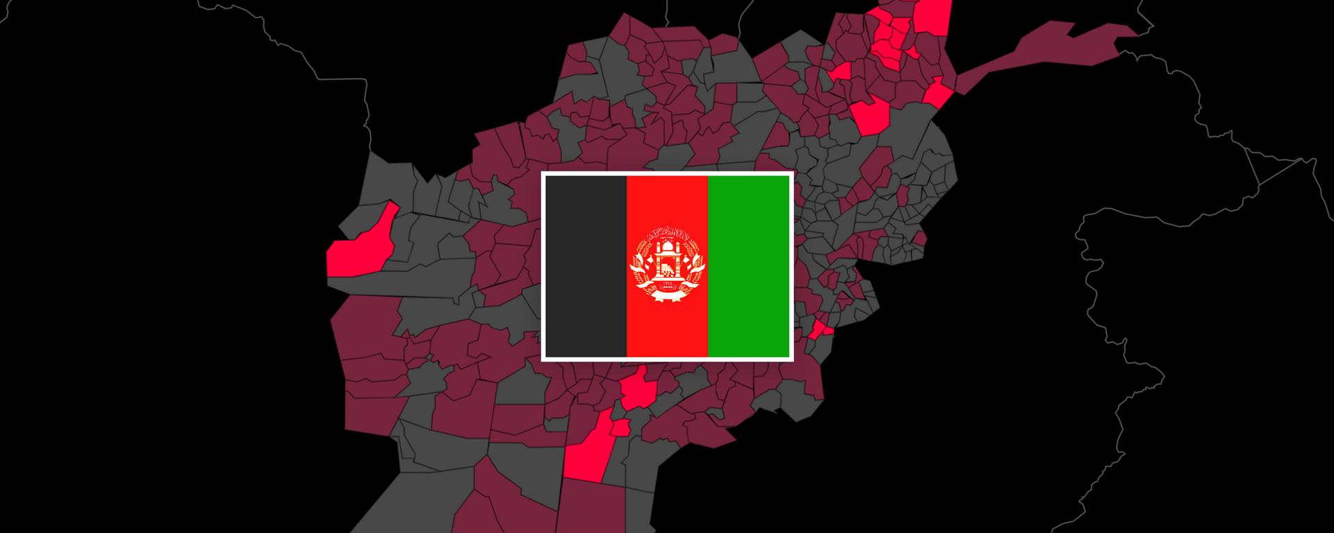 Afghanistan:  Taliban rücken immer weiter vor (Karte) - SNA, 1920, 15.07.2021