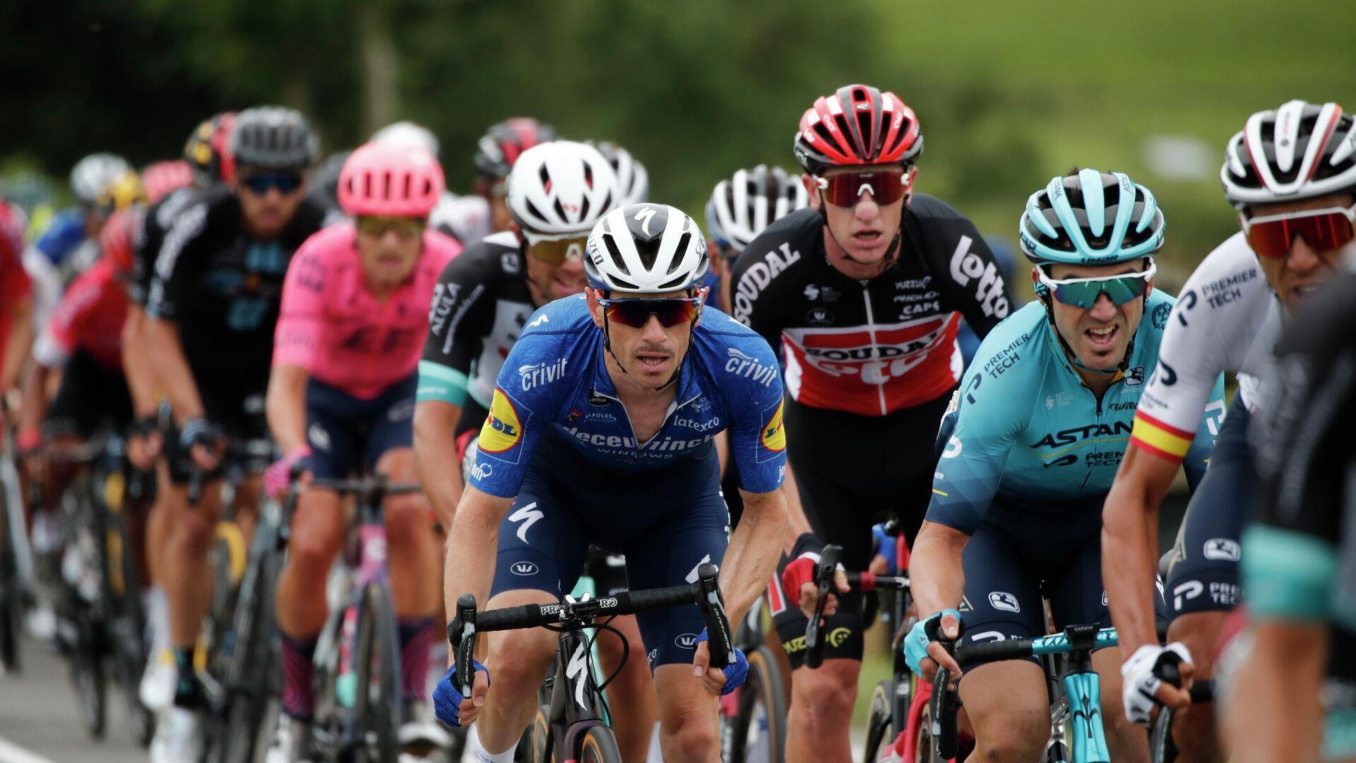 Die 18. Etappe der Tour de France 2021  - SNA, 1920, 15.07.2021
