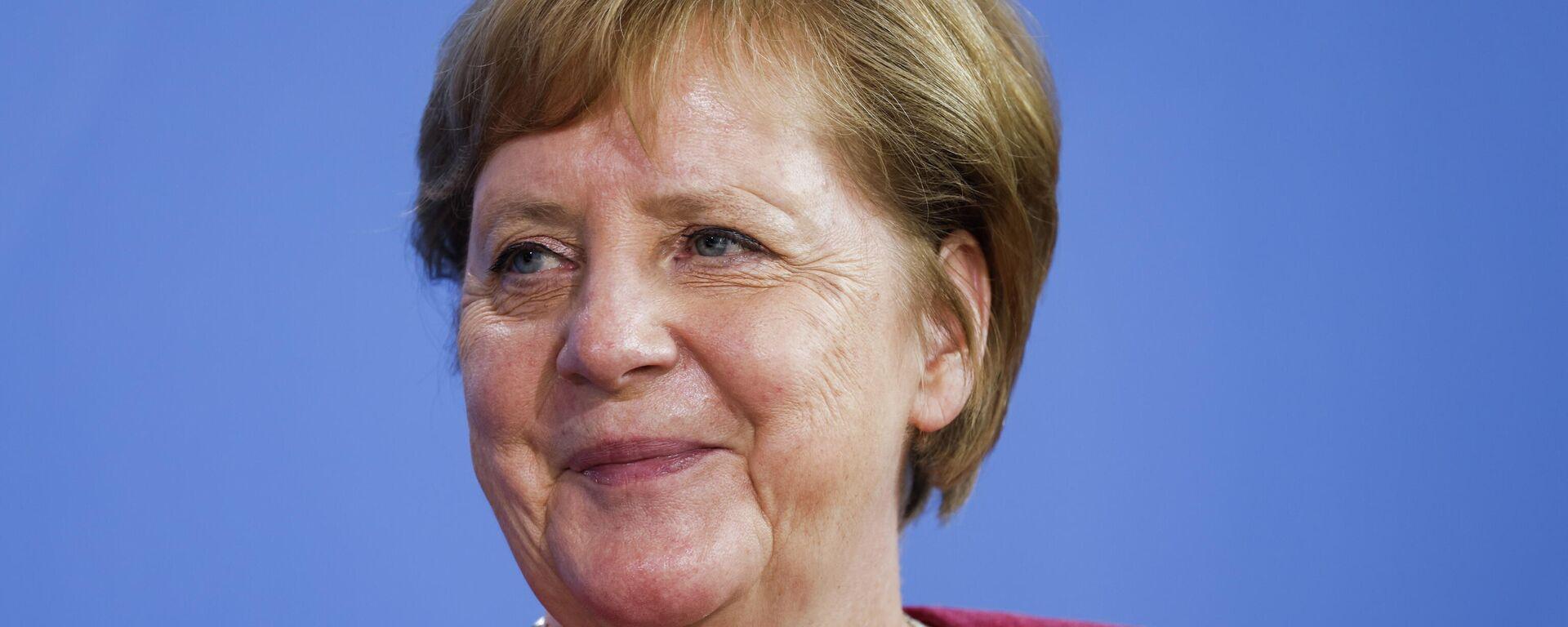 Bundeskanzlerin Angela Merkel  - SNA, 1920, 15.07.2021