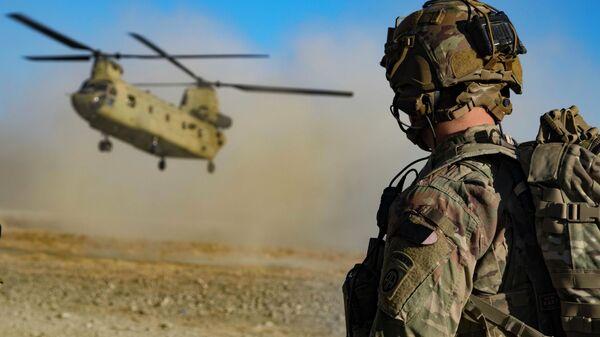 Американские военные на юго-востоке Афганистана  - SNA