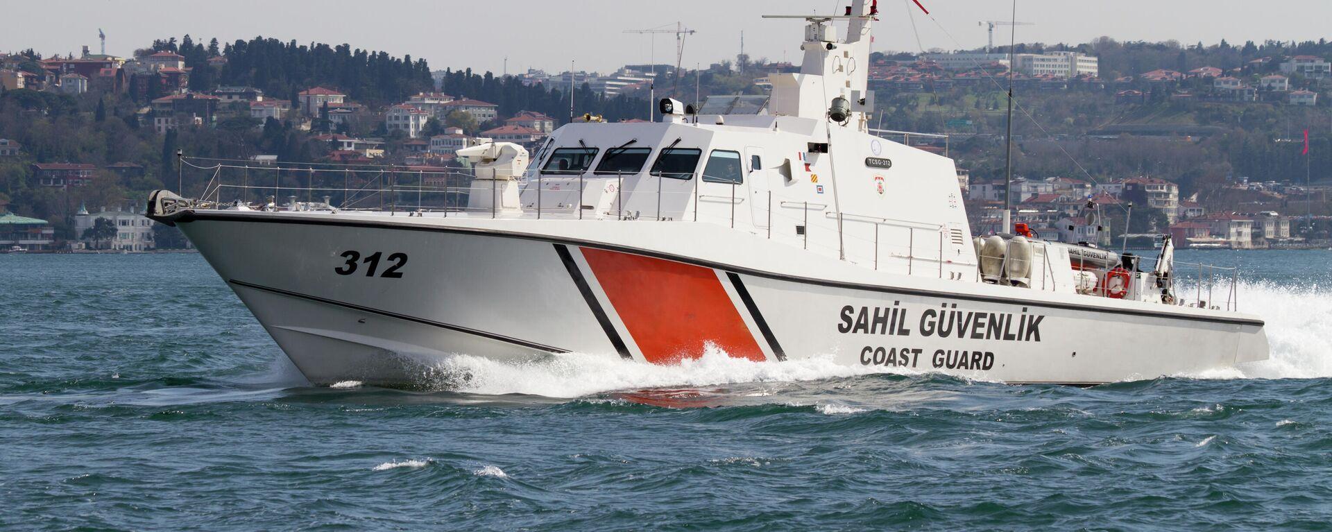 Ein Boot der türkischen Küstenwache (Symbolbild) - SNA, 1920, 16.07.2021