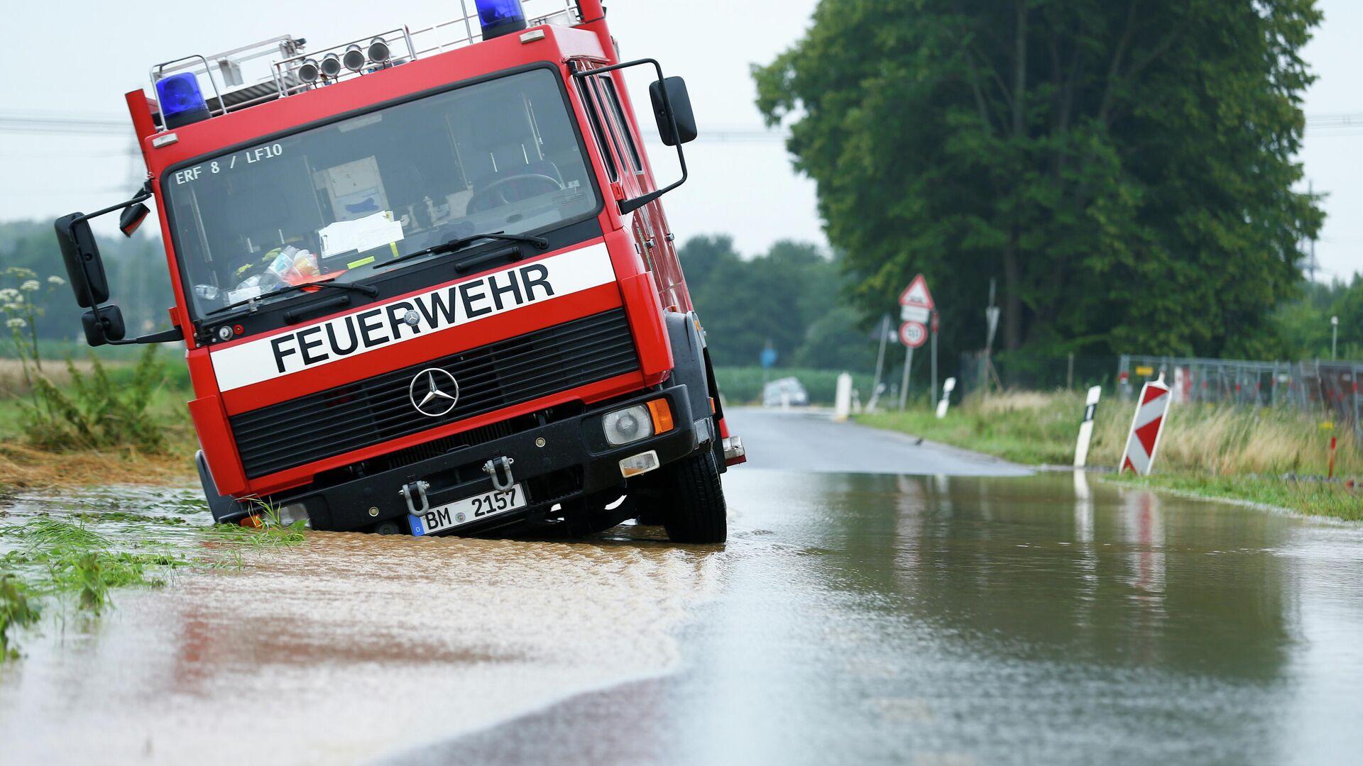 Überschwemmung in Erftstadt, Nordrhein-Westfalen - SNA, 1920, 16.07.2021