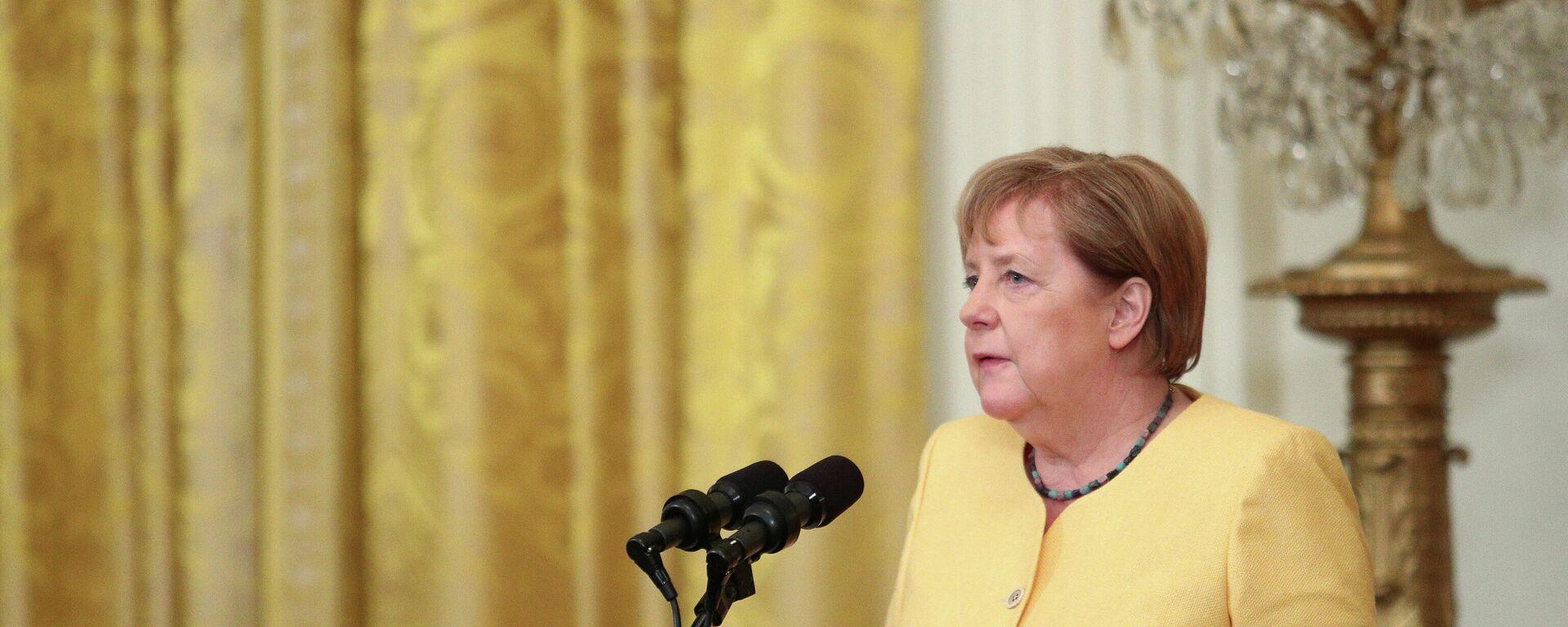 Bundeskanzlerin Angela Merkel - SNA, 1920, 18.07.2021