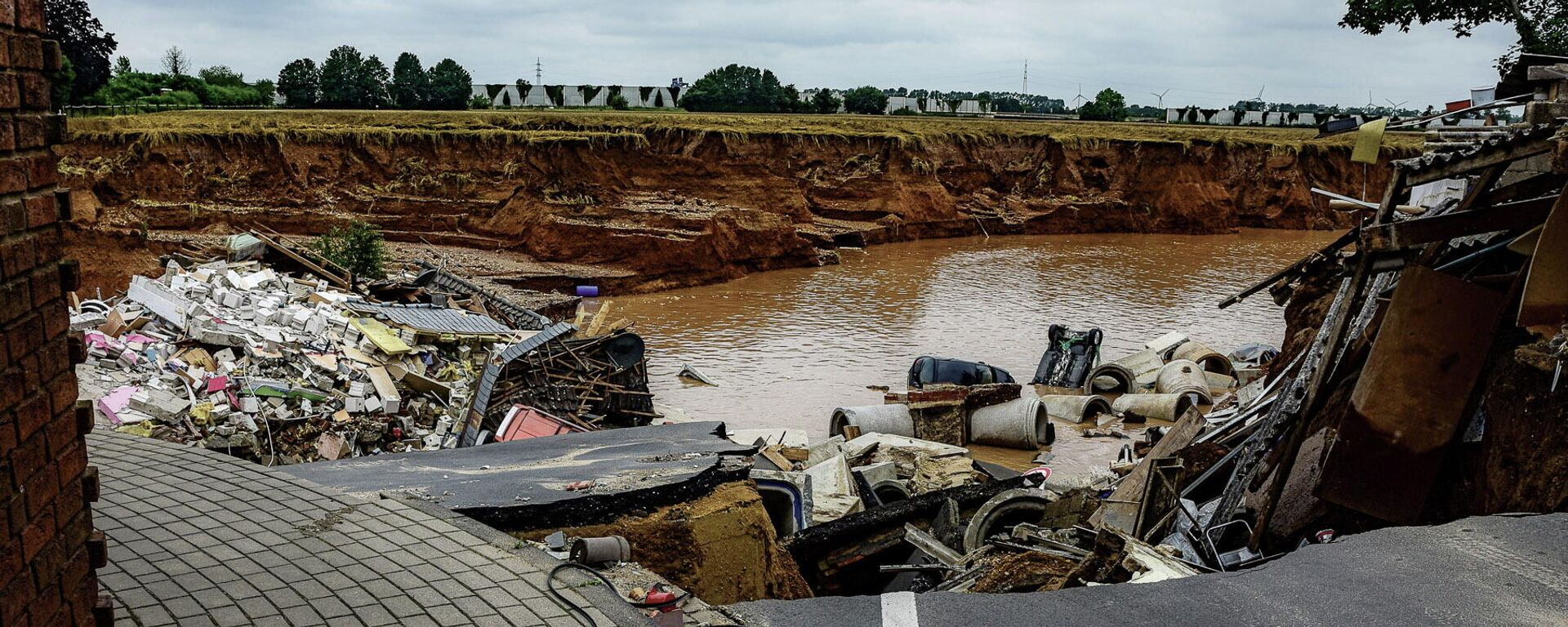 Folgen der Überschwemmungen in Erftstadt - SNA, 1920, 16.07.2021