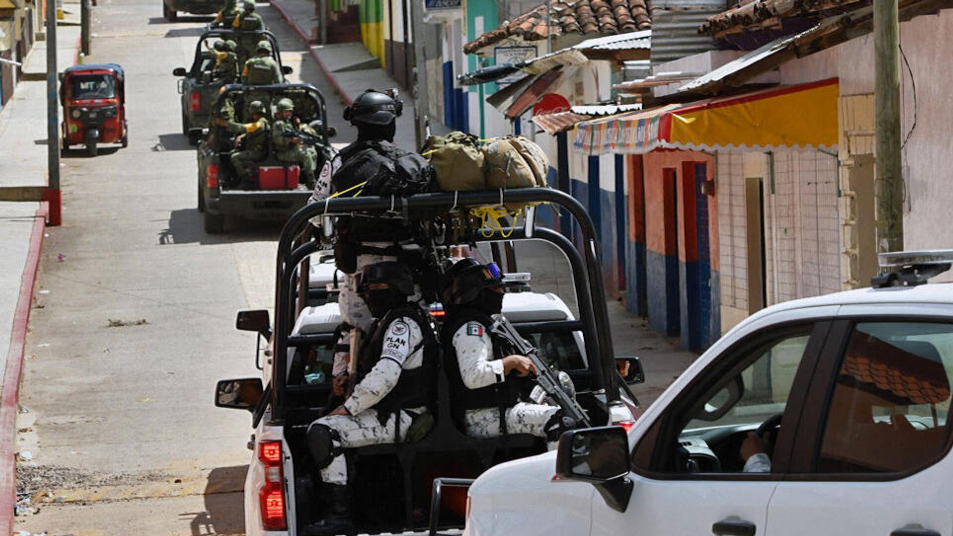 Polizei in Mexiko (Symbolbild) - SNA, 1920, 17.07.2021