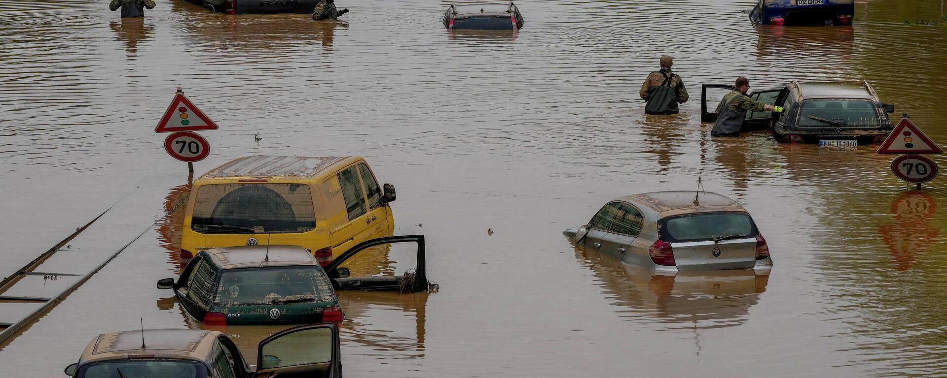 Folgen der Überschwemmung in Erftstadt - SNA, 1920, 17.07.2021