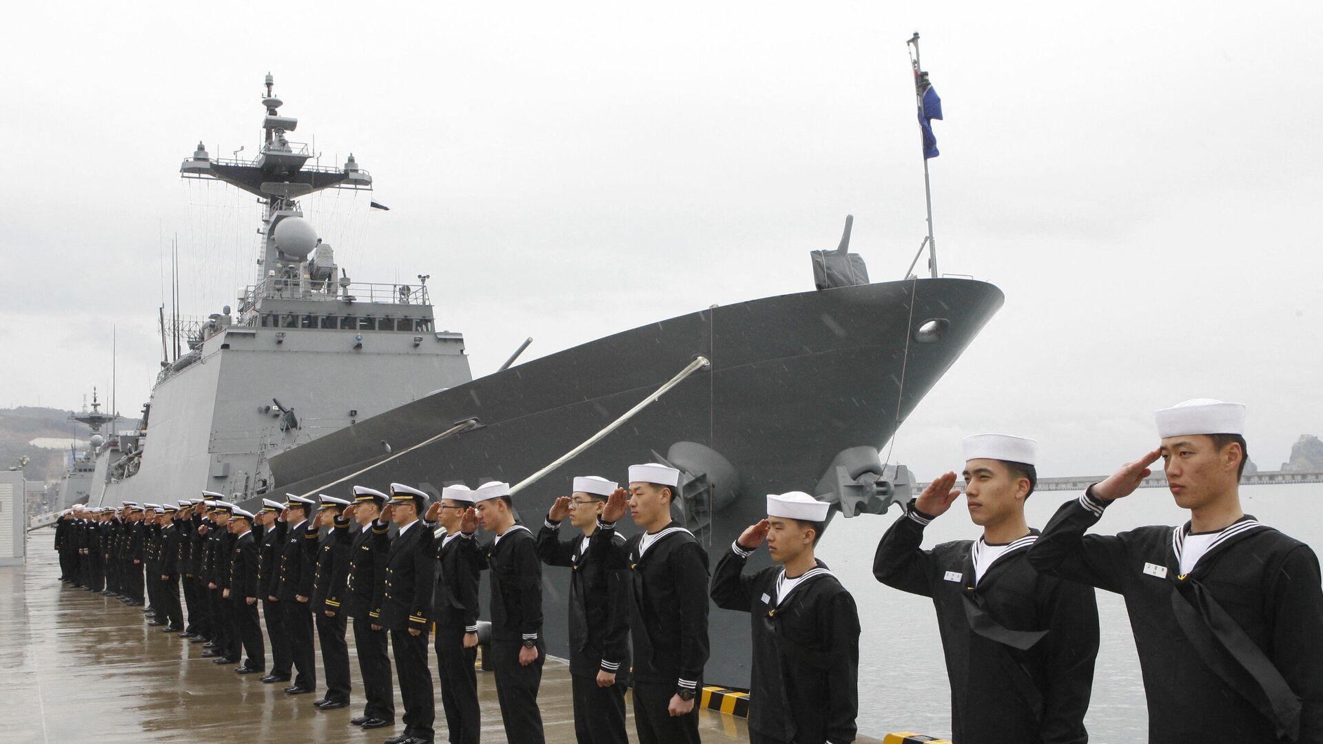 Der Zerstörer der südkoreanischen Marine Cheonghae  - SNA, 1920, 18.07.2021