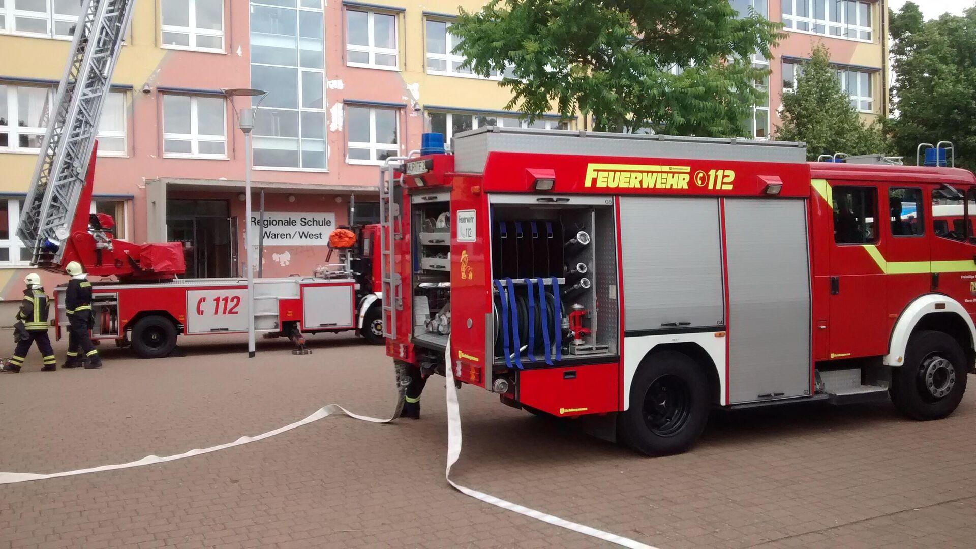 Feuerwehr (Symbolbild) - SNA, 1920, 19.07.2021