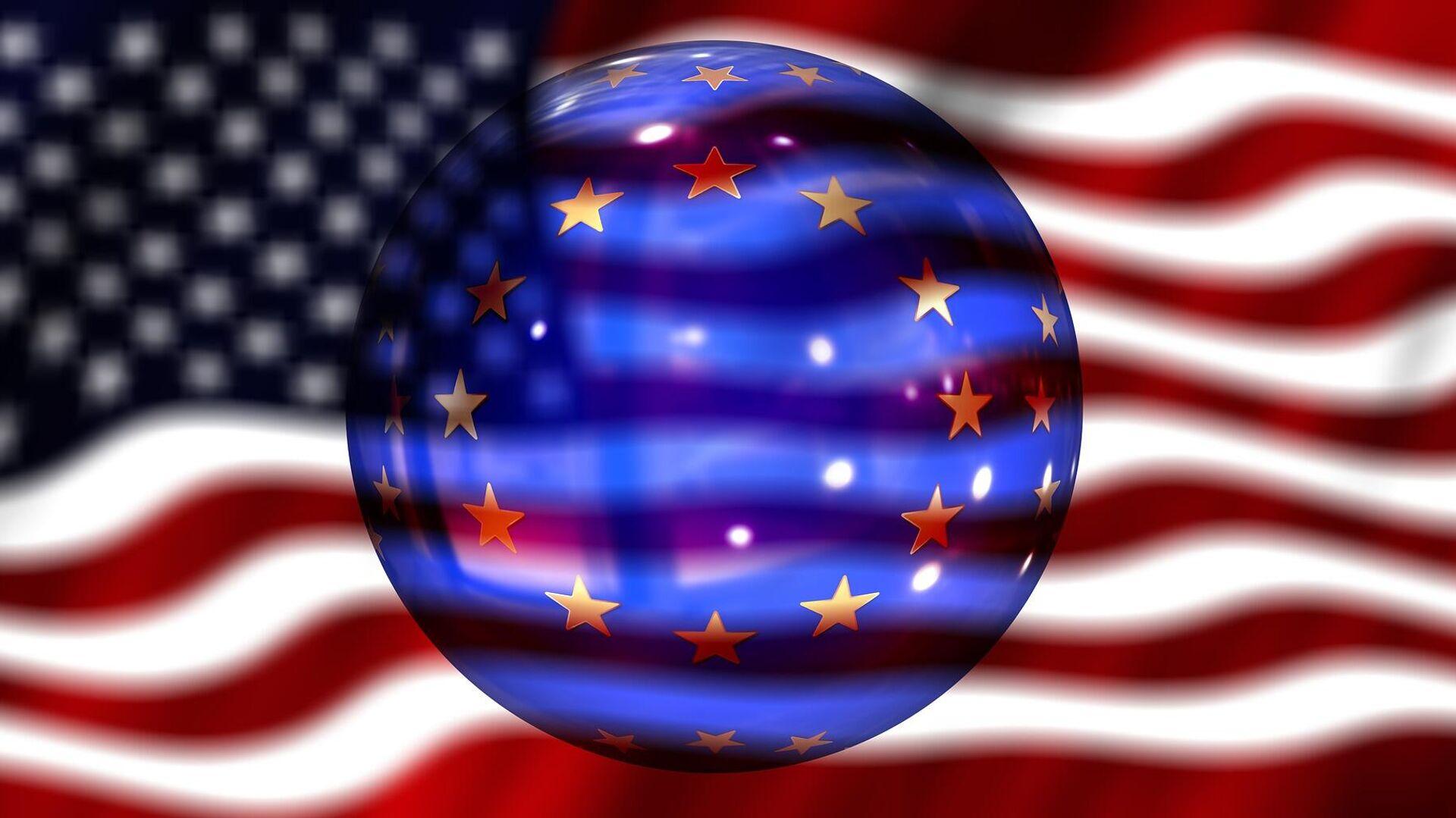 USA-EU (Symbolbild) - SNA, 1920, 19.07.2021