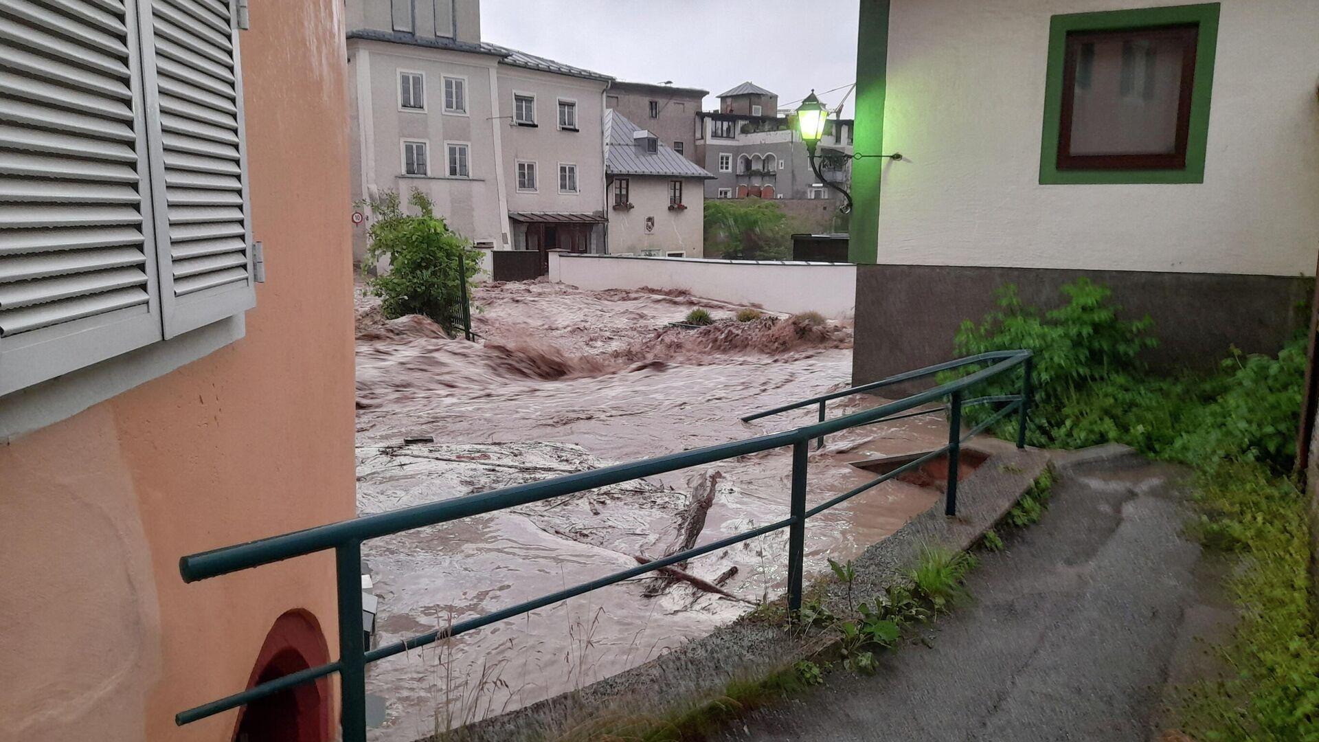 Hochwasser-Katastrophe in Österreich - SNA, 1920, 28.07.2021