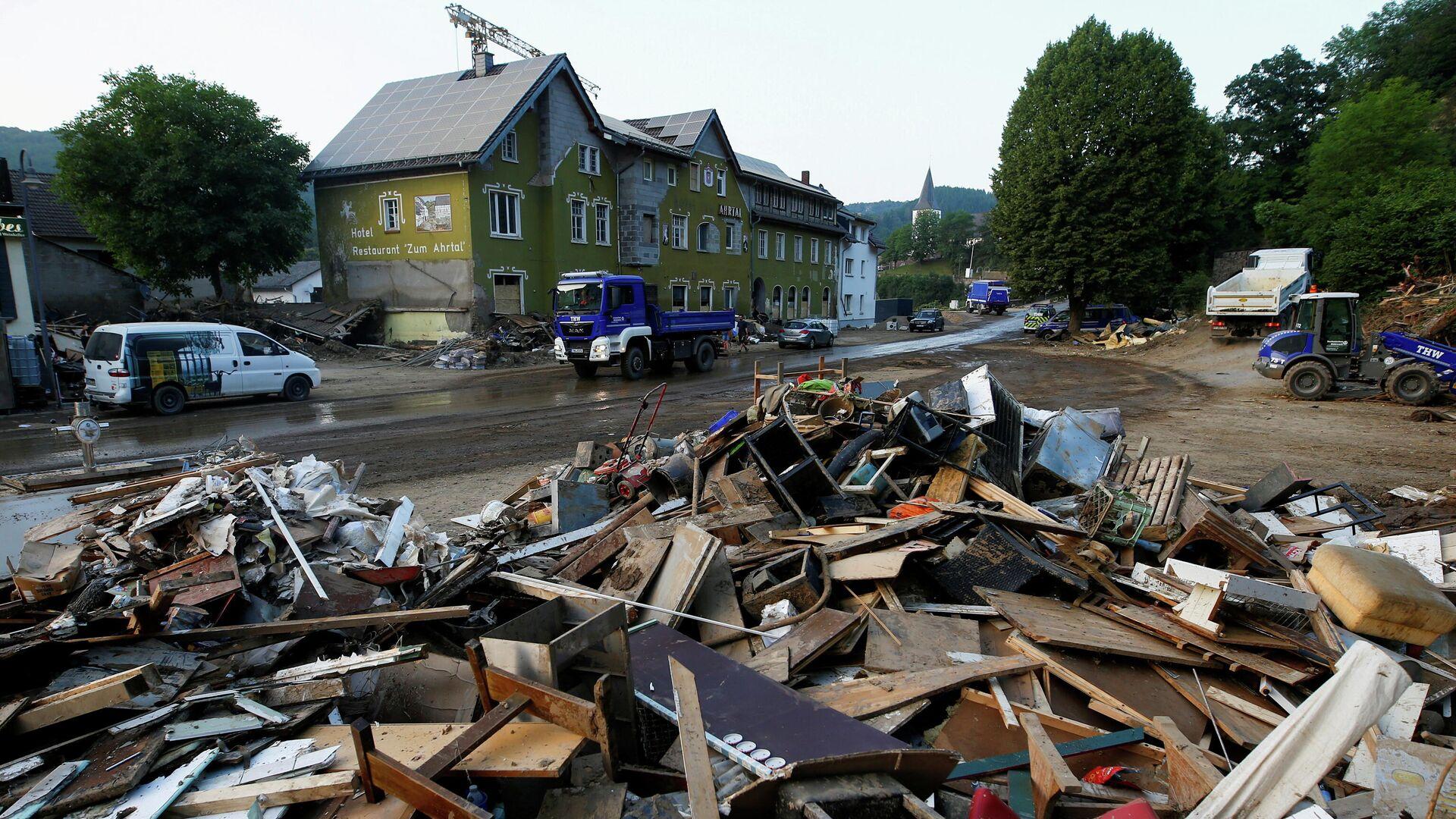 Unwetterkatastrophe in Deutschland - SNA, 1920, 21.07.2021