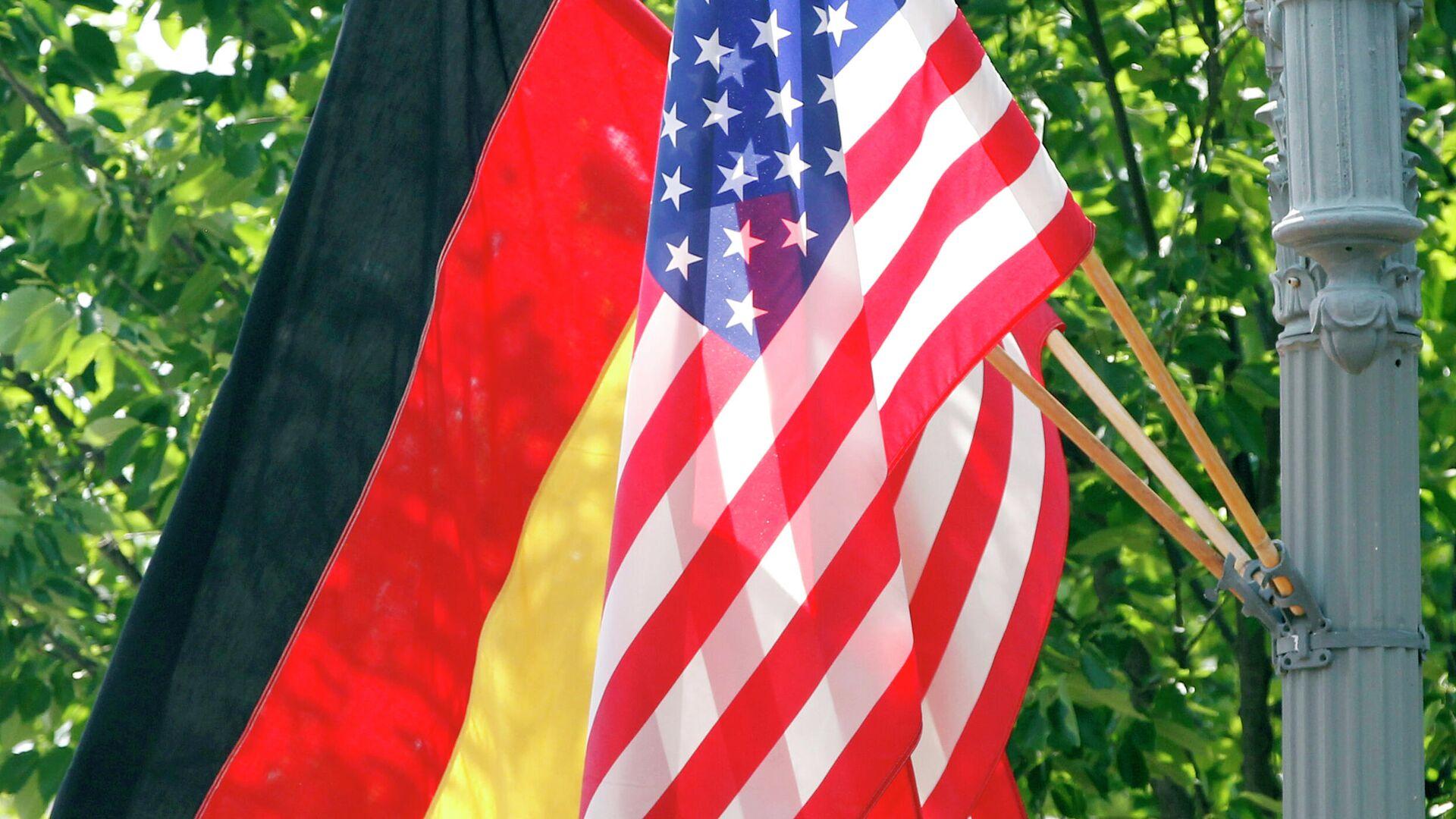 Flagge Deutschland / USA - SNA, 1920, 21.07.2021