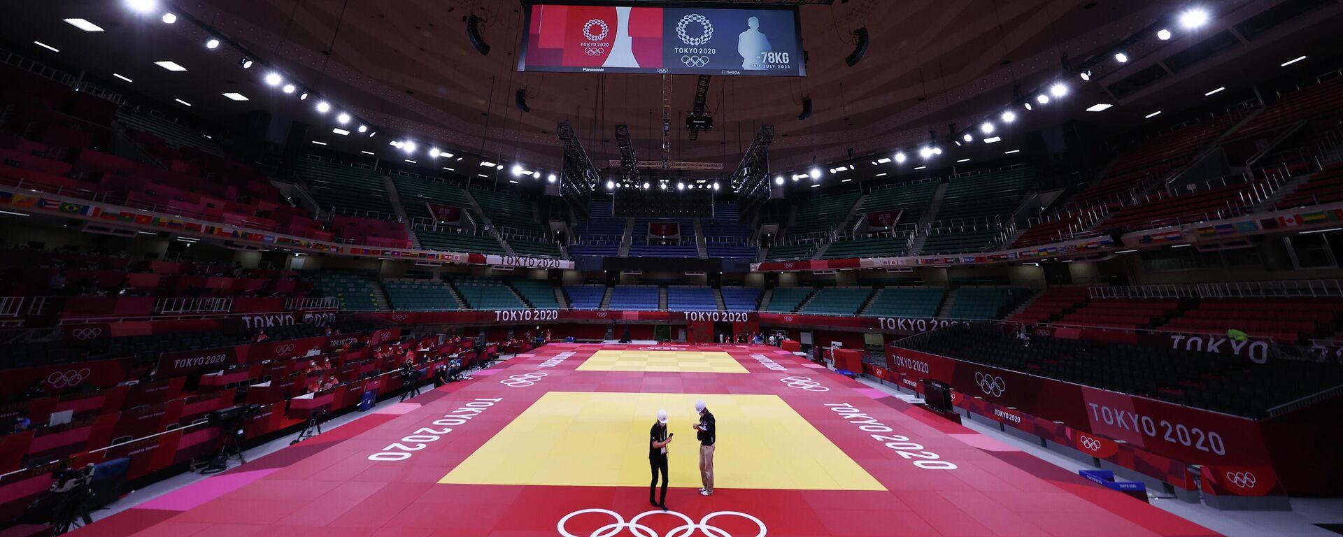 Tokio im Vorfeld der Olympischen Spiele  - SNA, 1920, 22.07.2021