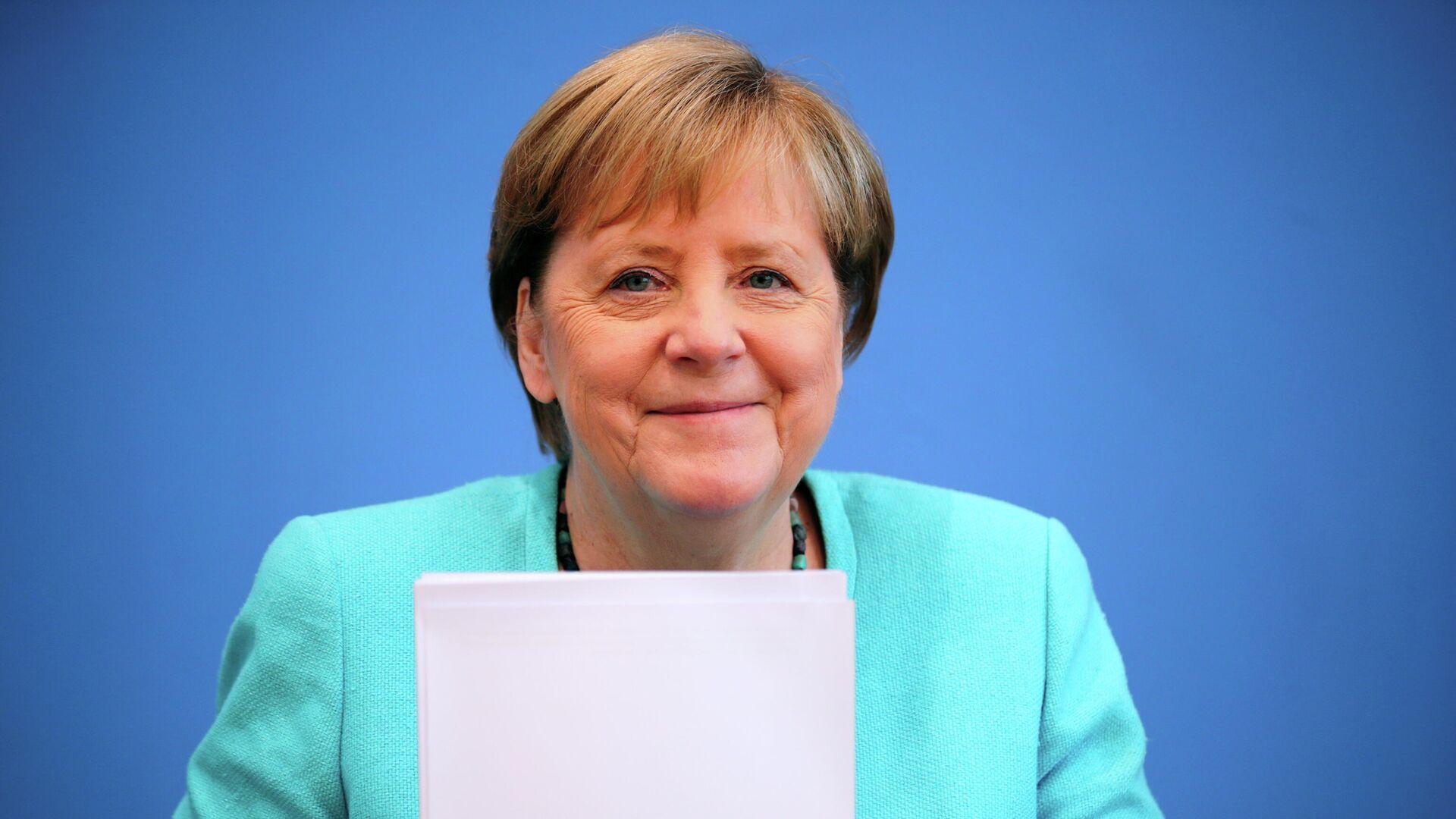 Kanzlerin Angela Merkel - SNA, 1920, 25.07.2021