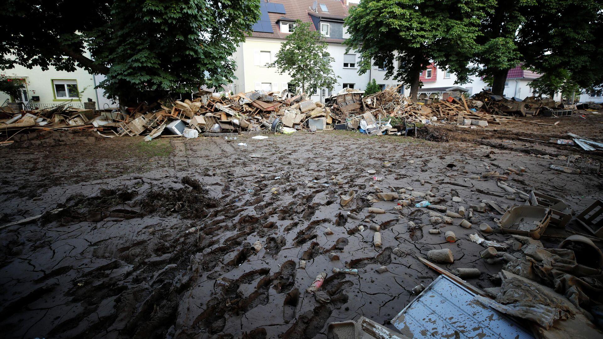 Nach der Flutüberschwemmung in Ahrweiler  - SNA, 1920, 22.07.2021